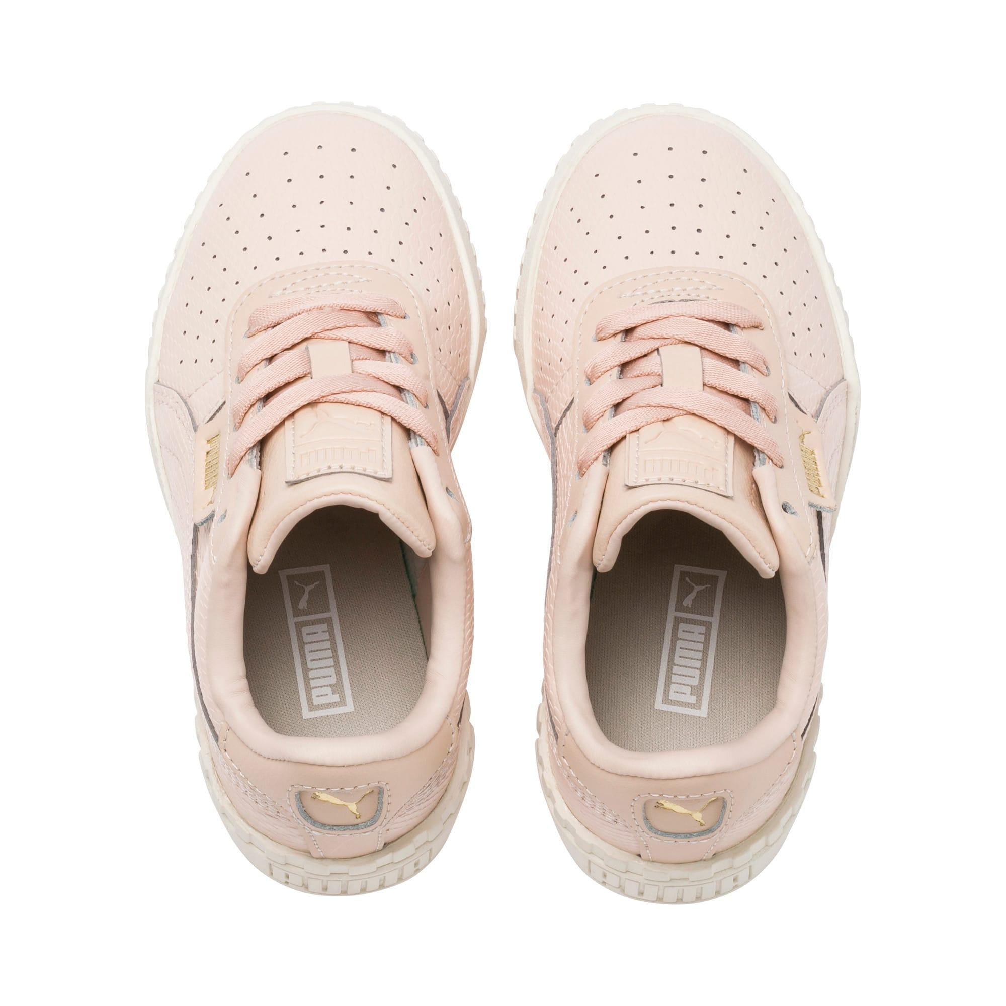 Imagen en miniatura 6 de Zapatillas de niña Cali Emboss Kid, Cream Tan-Cream Tan, mediana