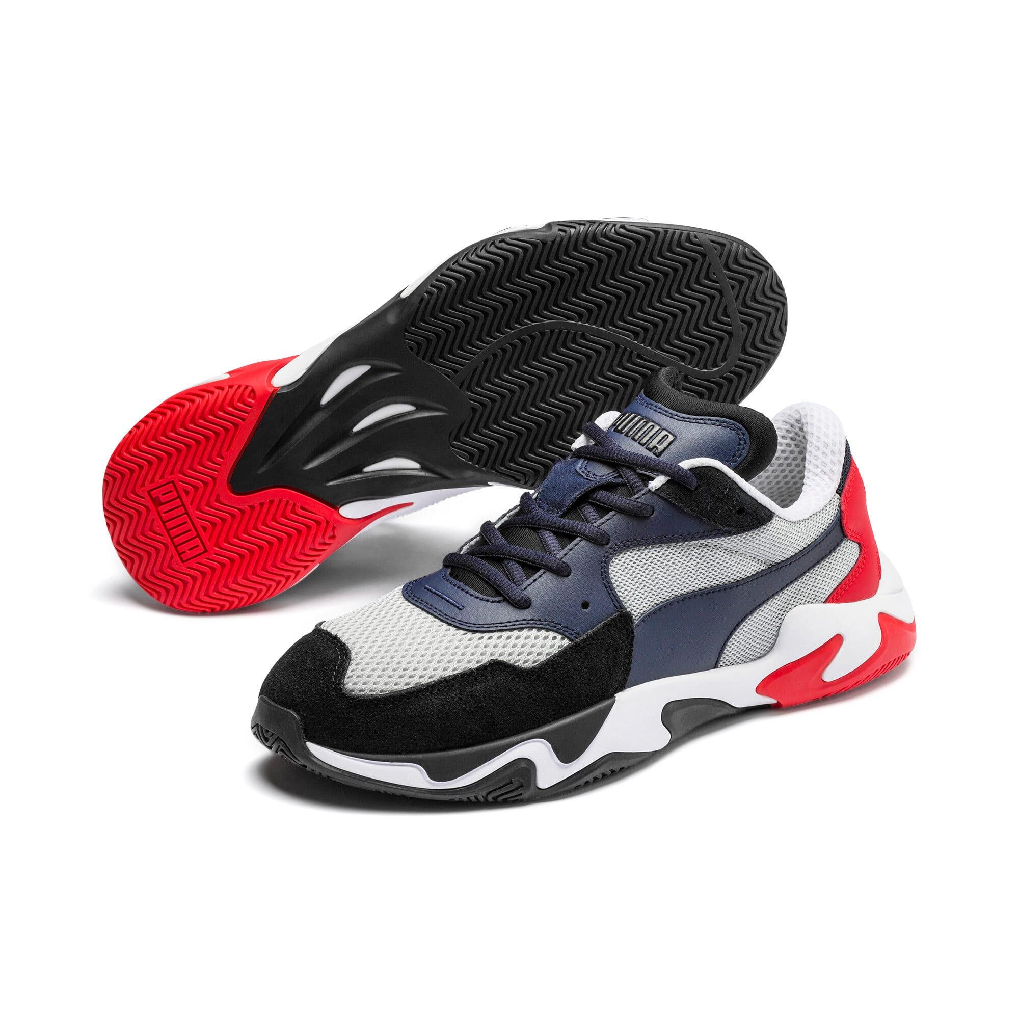 Thumbnail 3 van Storm Origin sportschoenen, Puma Black-High Rise, medium