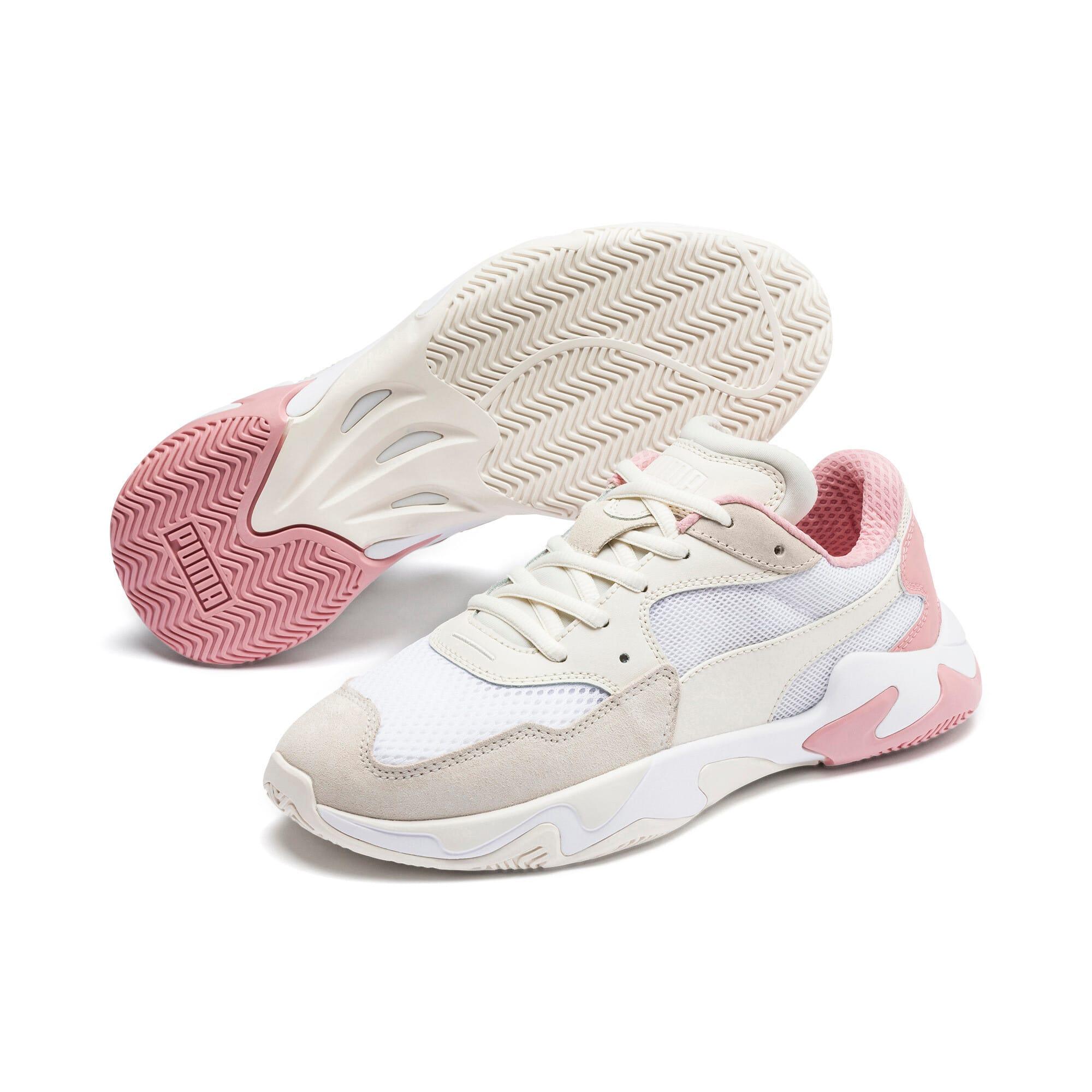 Thumbnail 3 of Storm Origin Sneakers, Pastel Parchment-Puma White, medium