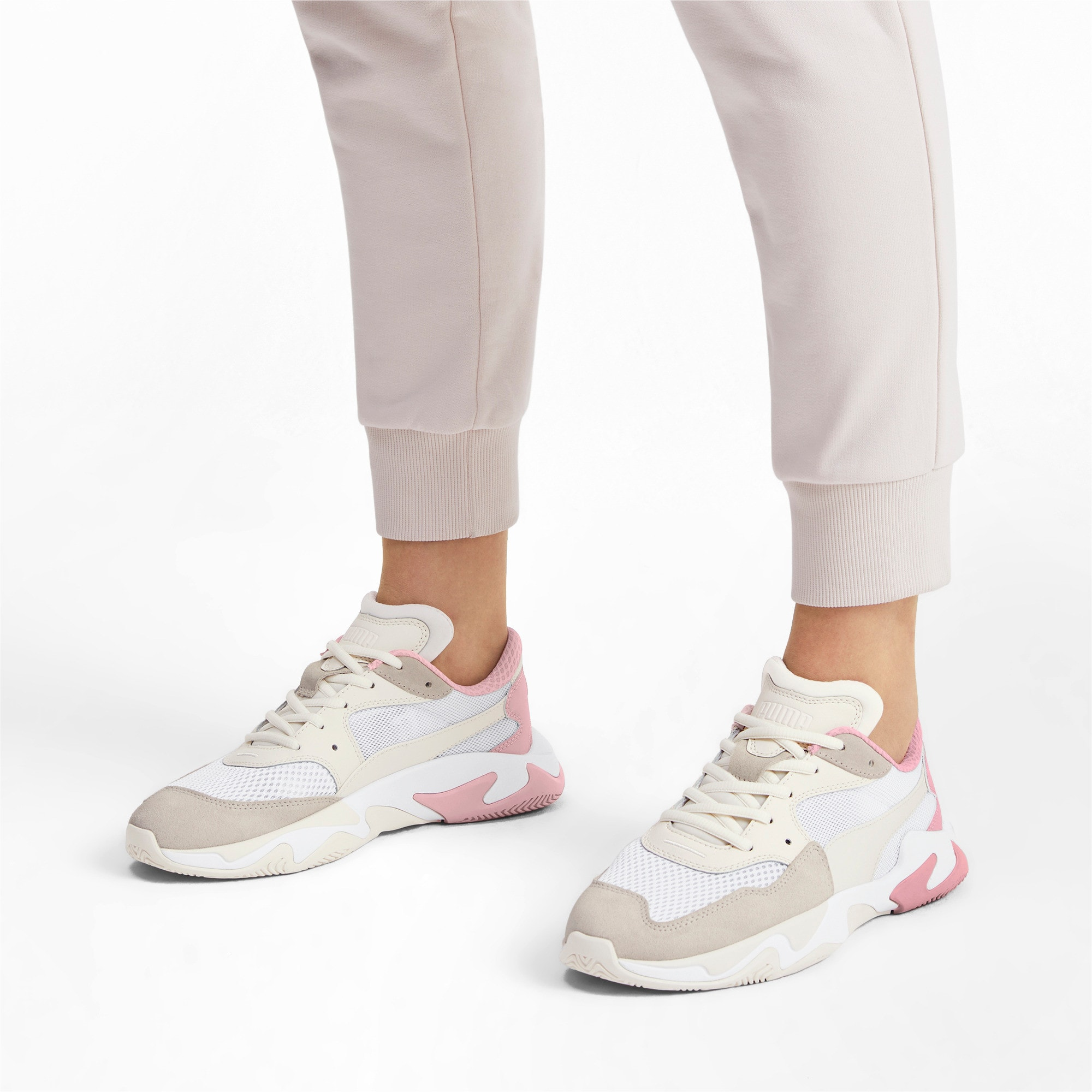 Thumbnail 2 of Storm Origin Trainers, Pastel Parchment-Puma White, medium