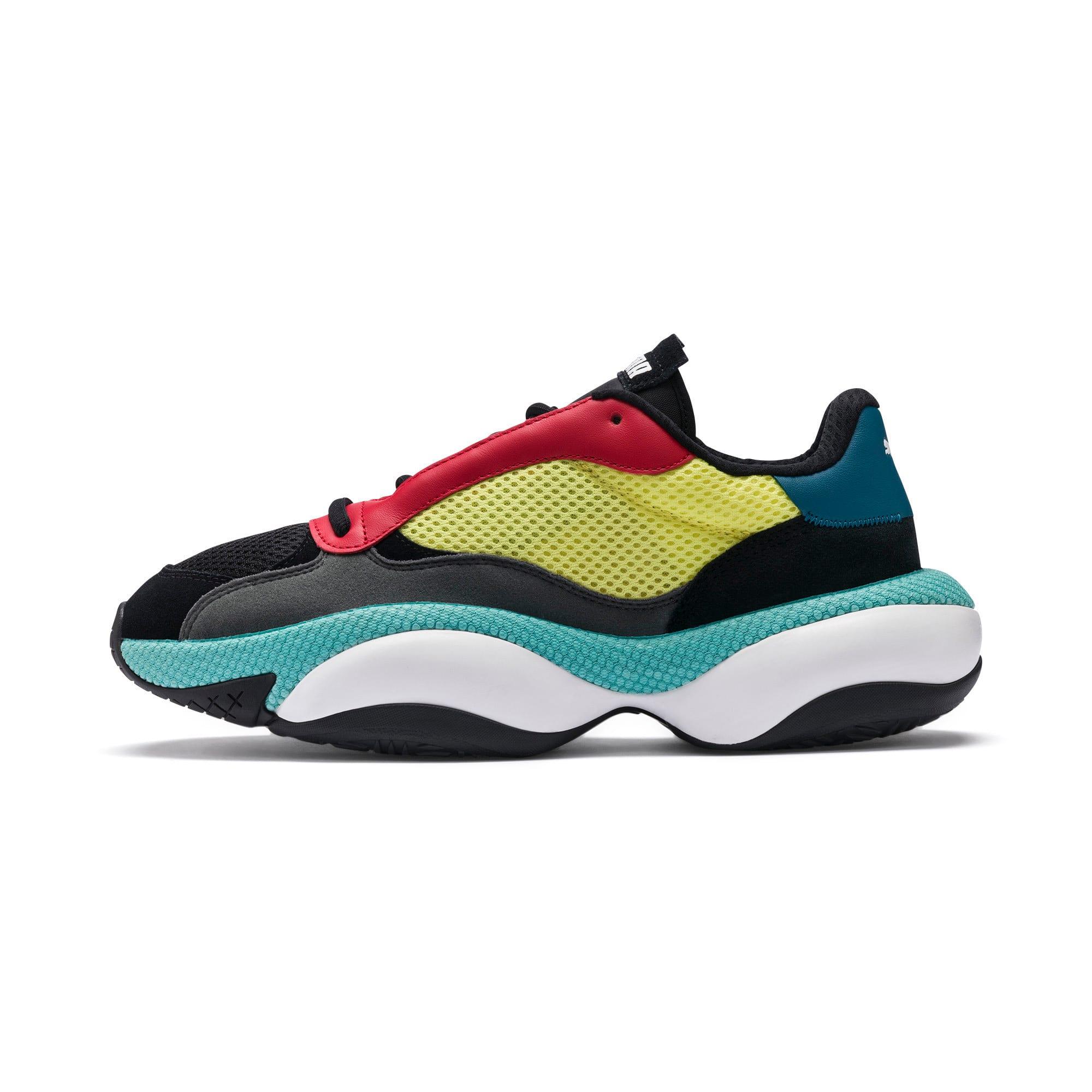 Thumbnail 1 of Alteration Kurve Sneakers, Puma Black-Limelight, medium