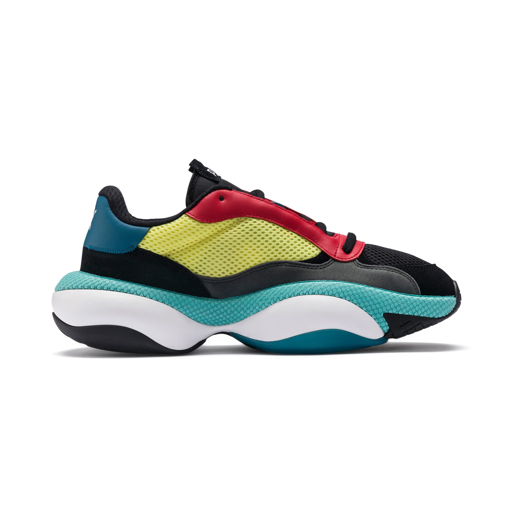 Thumbnail 5 of Alteration Kurve Sneakers, Puma Black-Limelight, medium