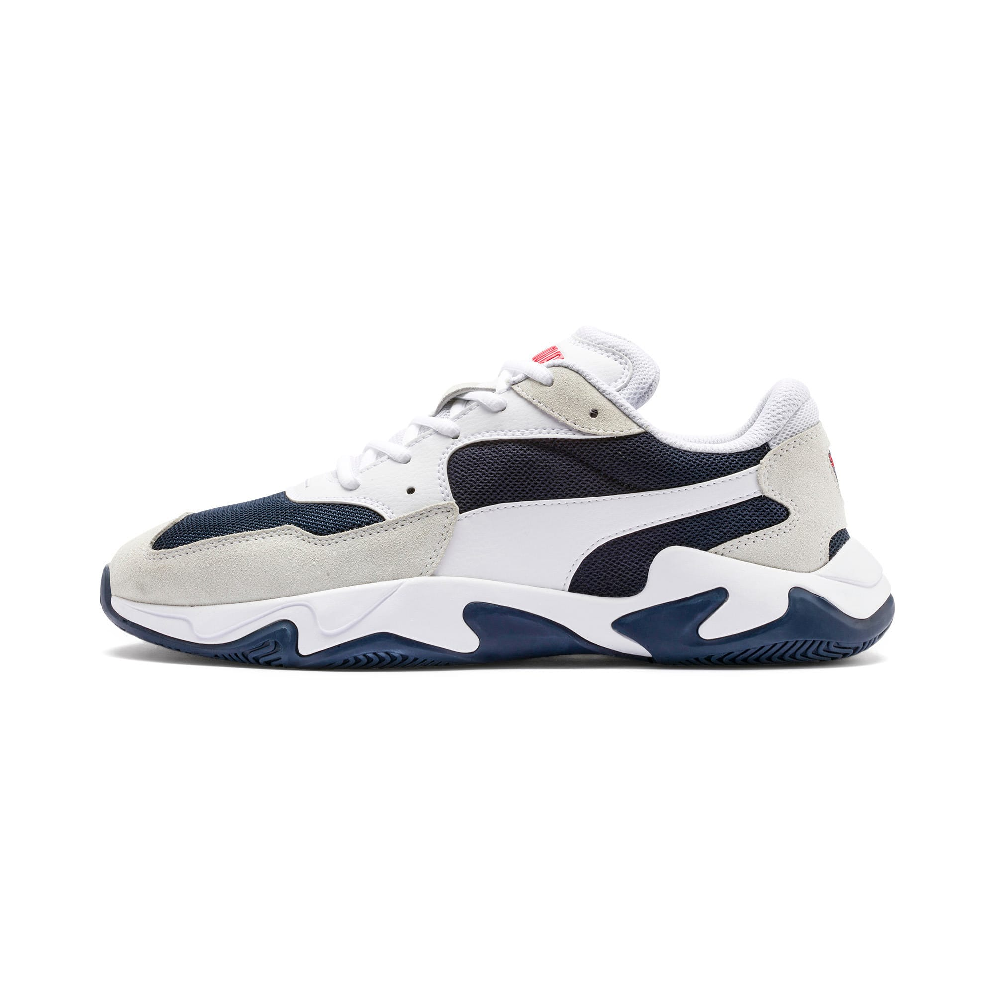 Thumbnail 1 of Storm Adrenaline Trainers, Puma White-Peacoat, medium