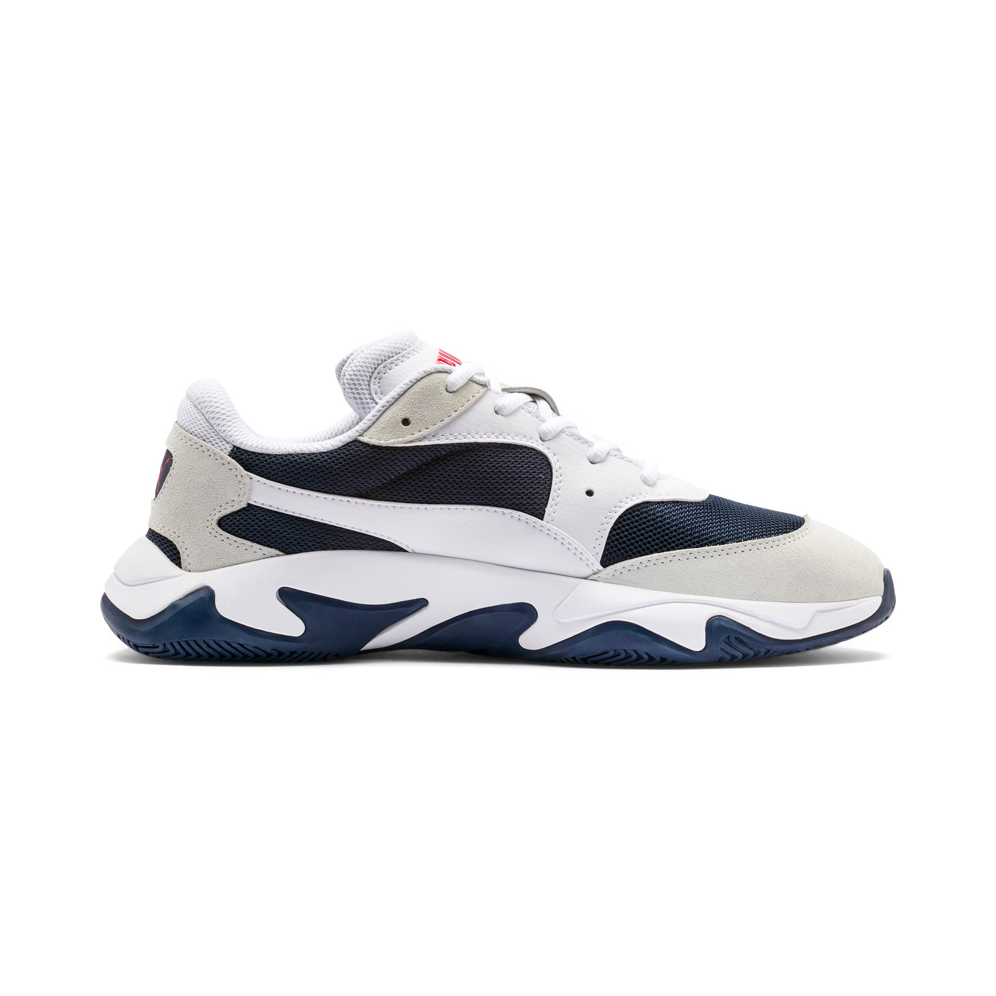 Thumbnail 6 of Storm Adrenaline Sneakers, Puma White-Peacoat, medium