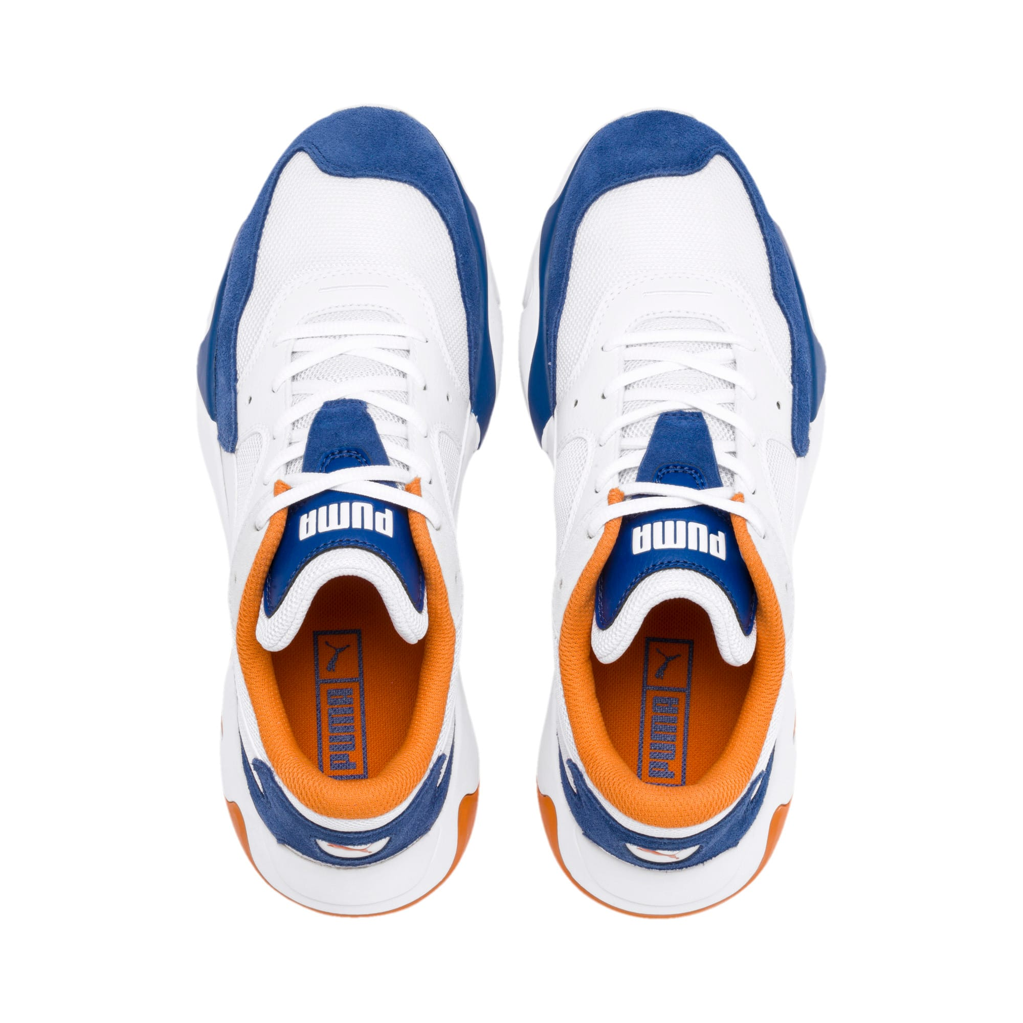 Thumbnail 7 of Storm Adrenaline Sneakers, Galaxy Blue-Puma White, medium