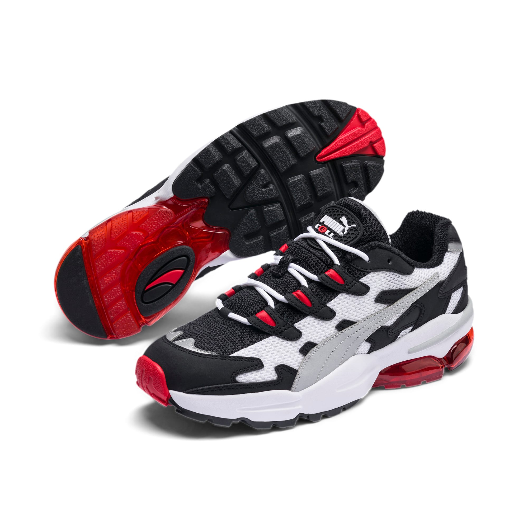 Thumbnail 3 of CELL Alien OG Sneakers, Puma Black-High Risk Red, medium