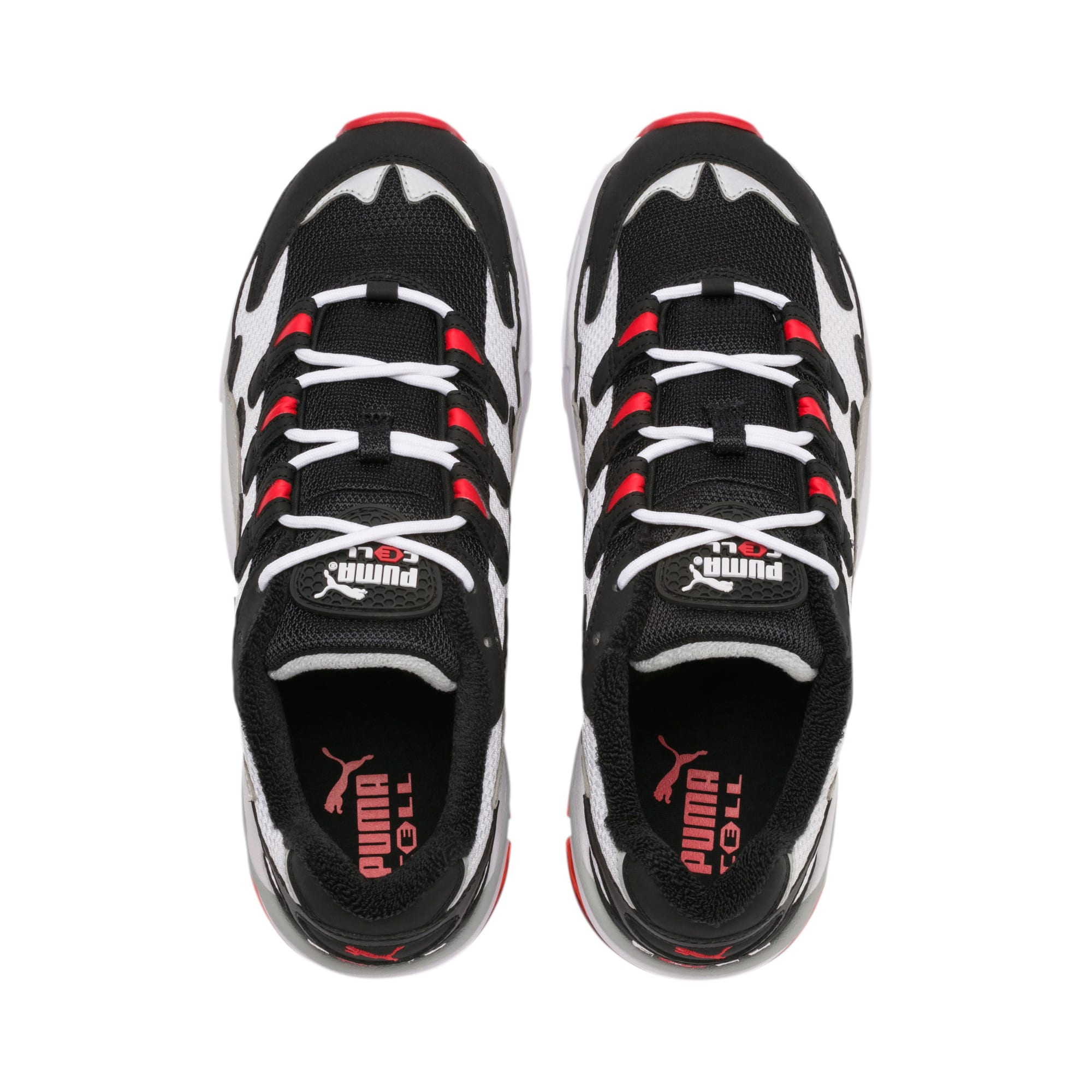 Thumbnail 7 of CELL Alien OG Sneakers, Puma Black-High Risk Red, medium