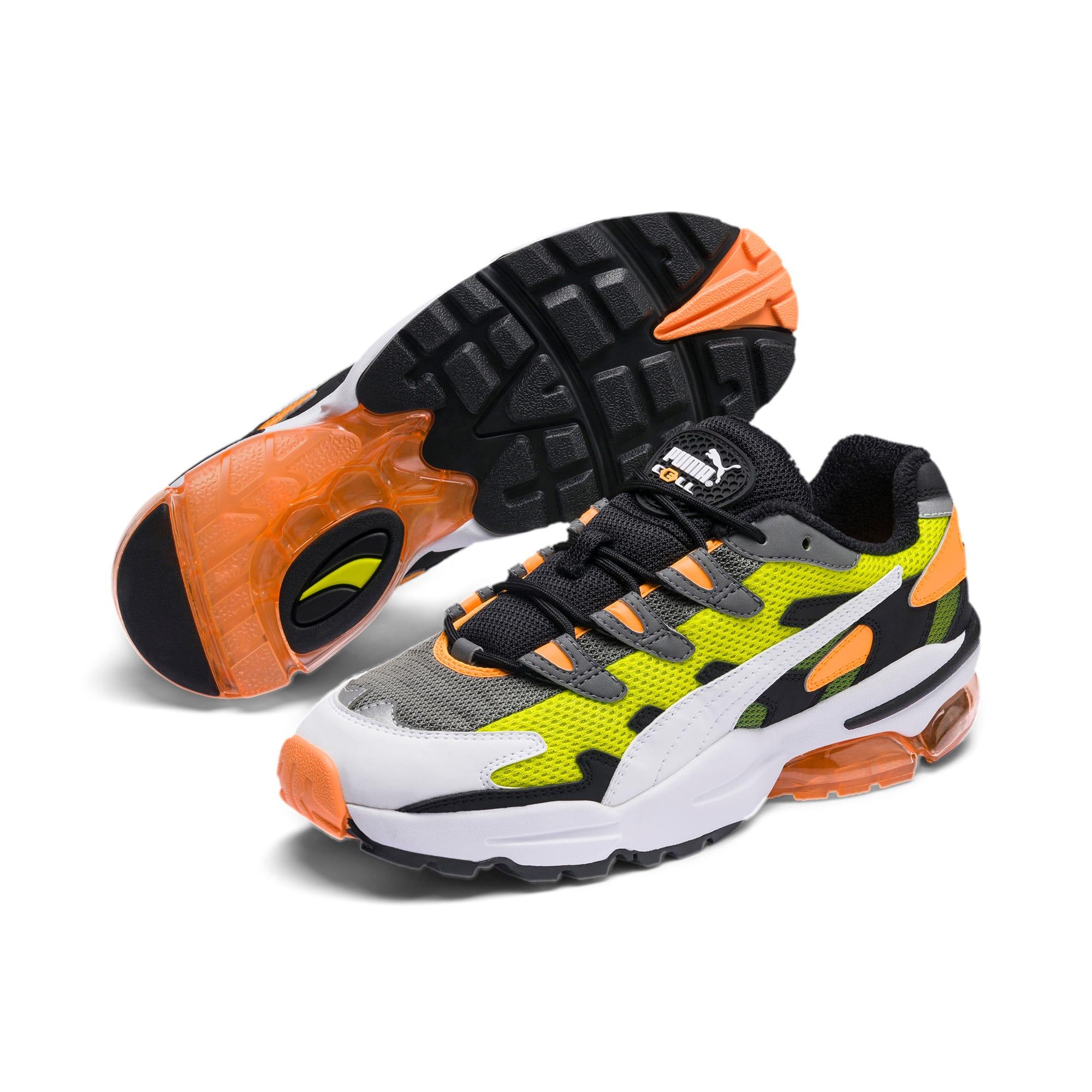 Thumbnail 3 of CELL Alien OG Sneakers, Yellow Alert-Fluo Orange, medium
