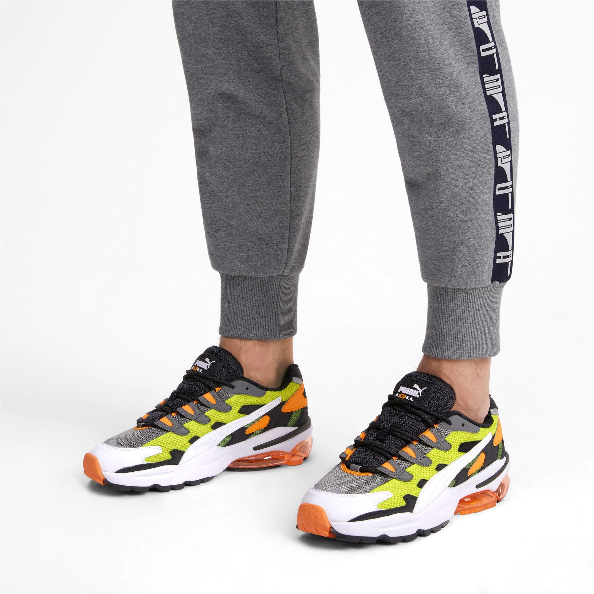 Thumbnail 2 of CELL Alien OG Sneakers, Yellow Alert-Fluo Orange, medium