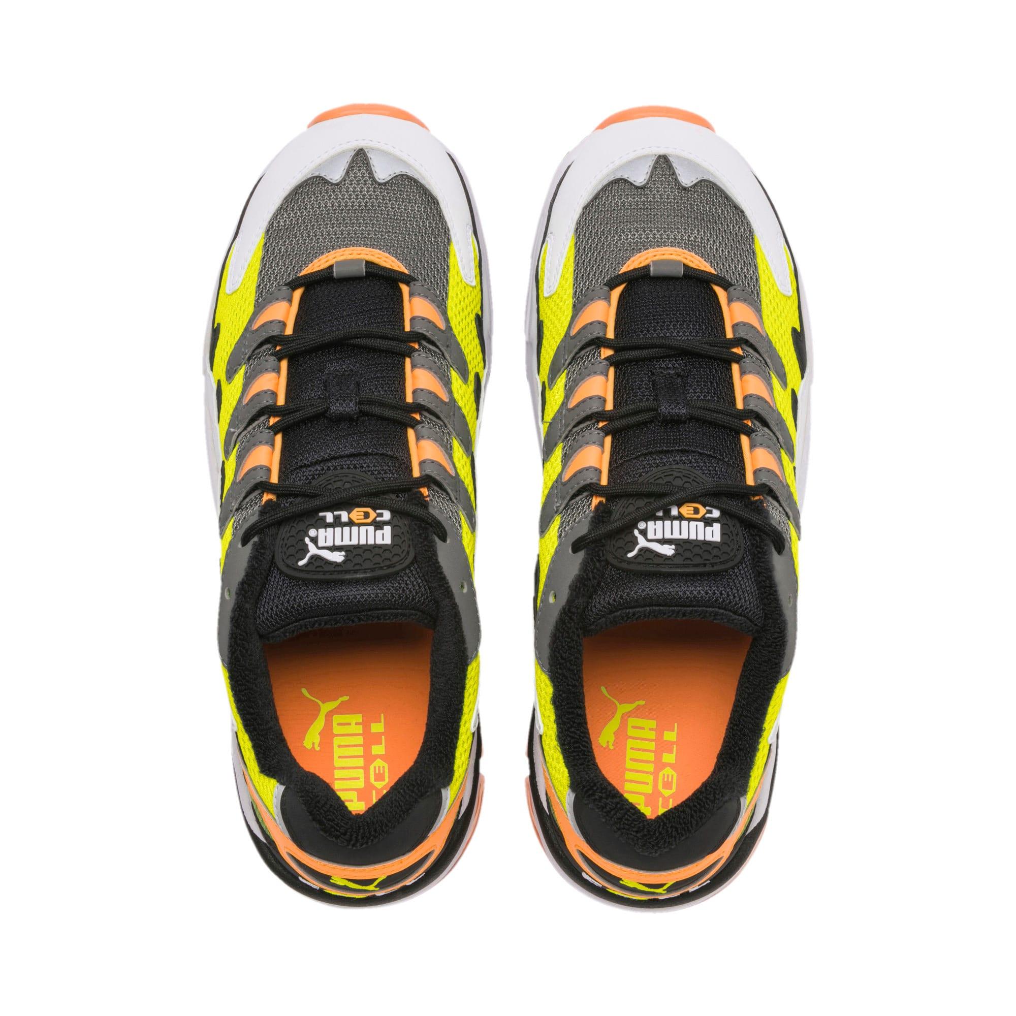 Thumbnail 7 of CELL Alien OG Sneakers, Yellow Alert-Fluo Orange, medium