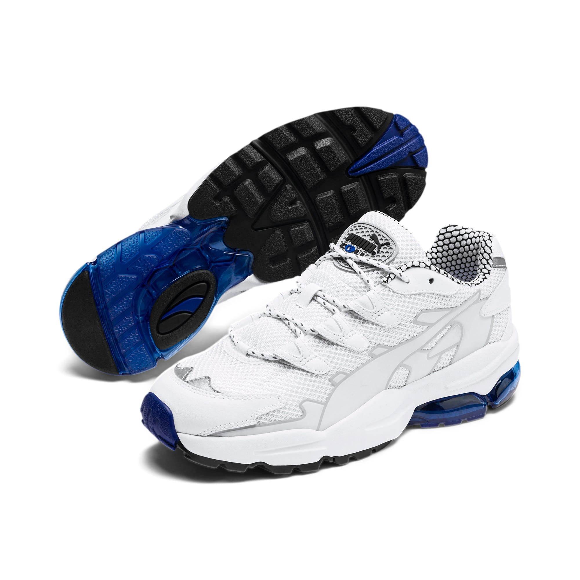 Thumbnail 3 of CELL Alien Kotto Trainers, Puma White-Puma White, medium