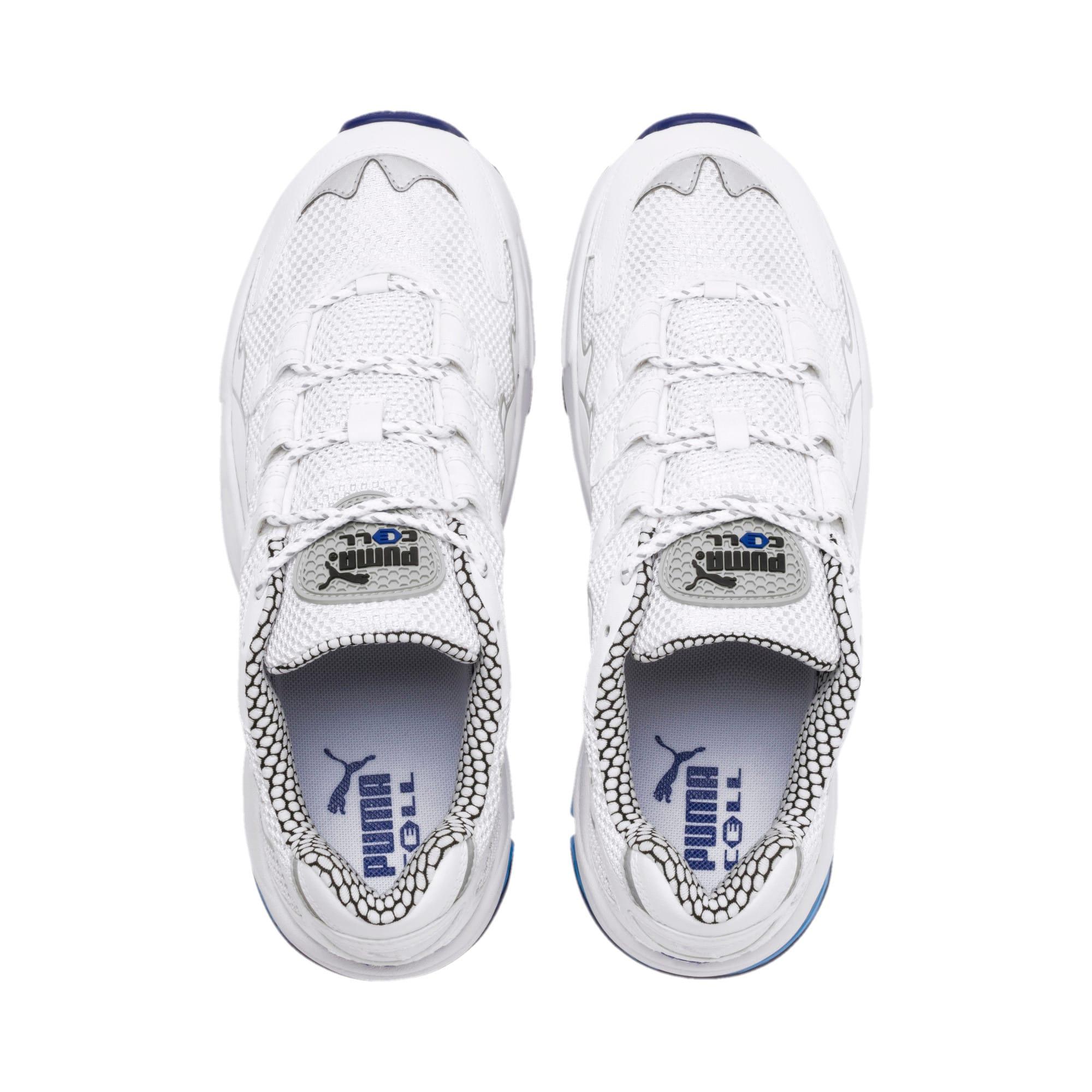 Thumbnail 7 of CELL Alien Kotto Sneakers, Puma White-Puma White, medium