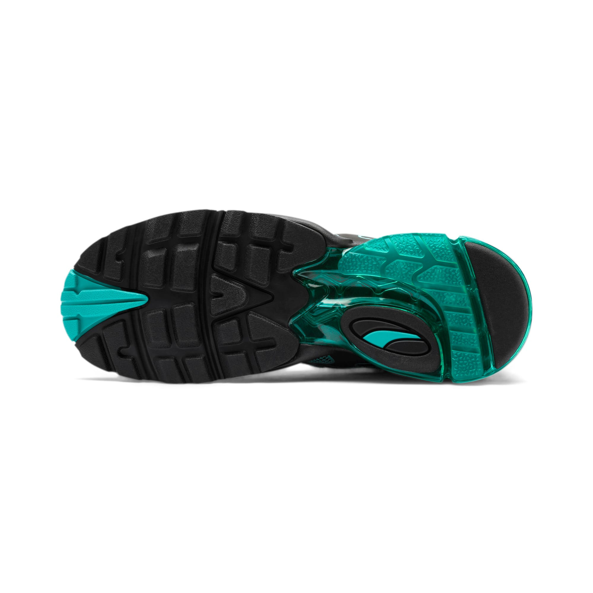 Thumbnail 5 of CELL Alien Kotto Trainers, Puma Black-Blue Turquoise, medium