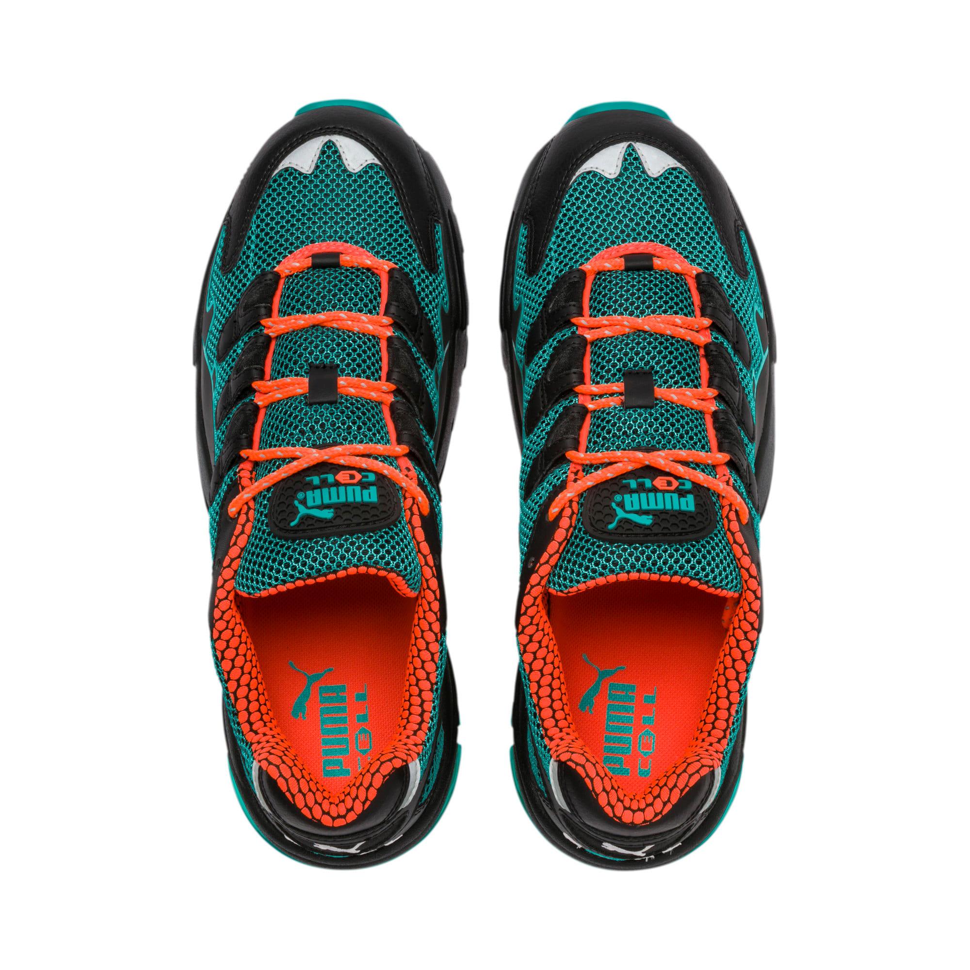 Thumbnail 7 of CELL Alien Kotto Sneakers, Puma Black-Blue Turquoise, medium