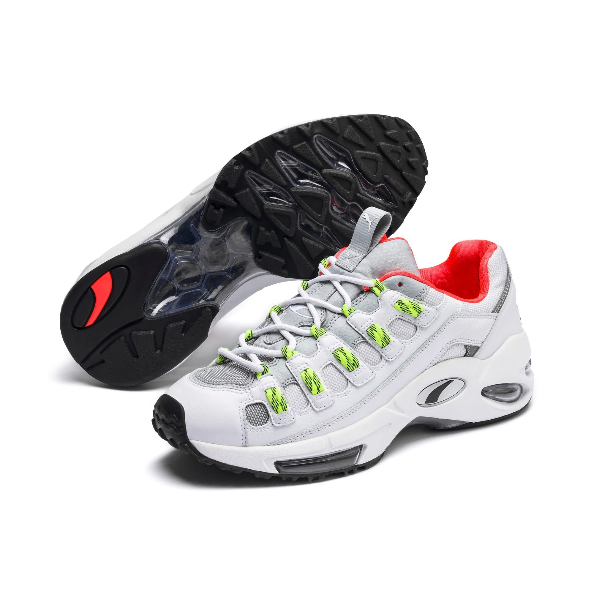 Thumbnail 3 of CELL Endura Rebound Trainers, Puma White-High Rise, medium