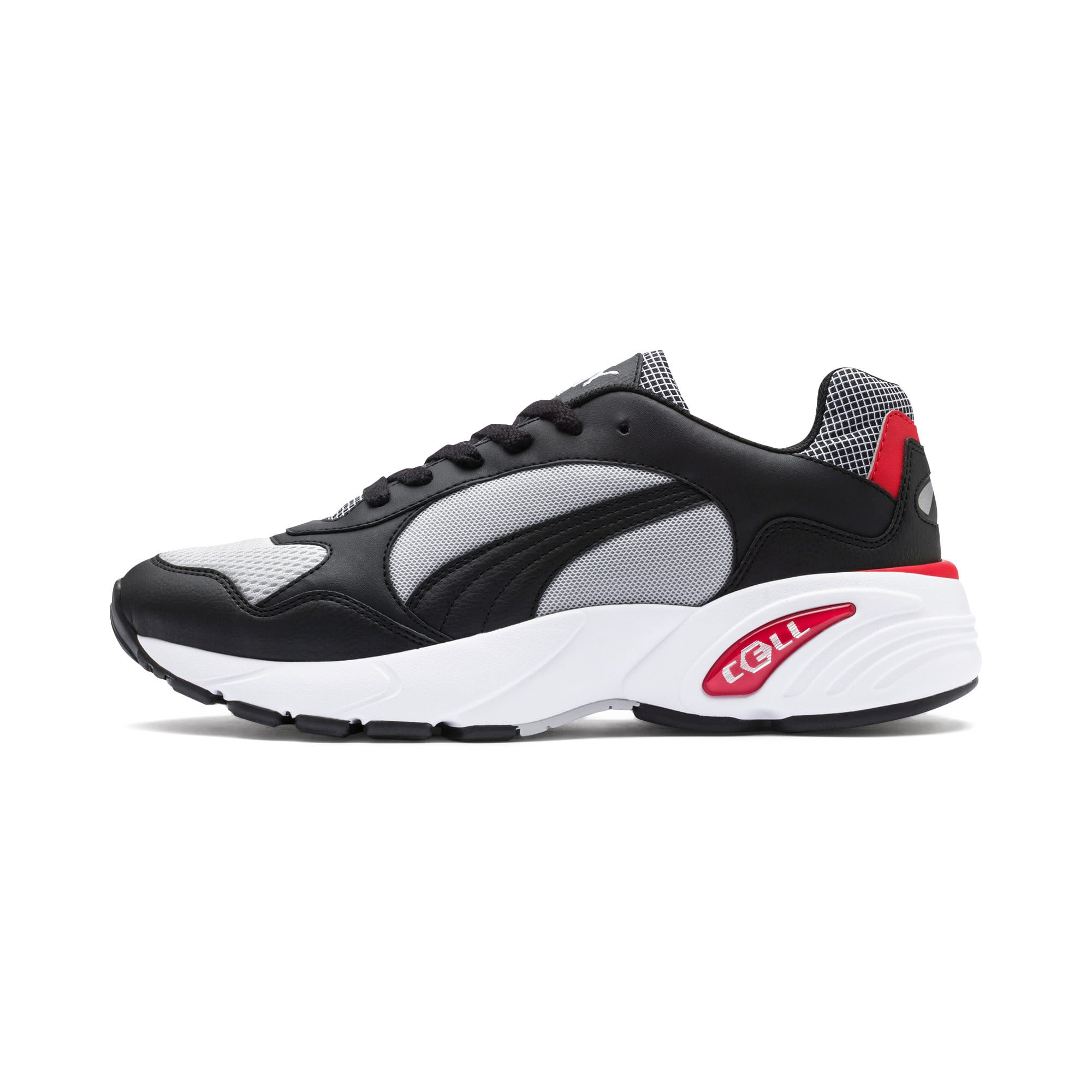 Thumbnail 1 of CELL Viper Street Racer Sneaker, High Rise-Puma Black, medium