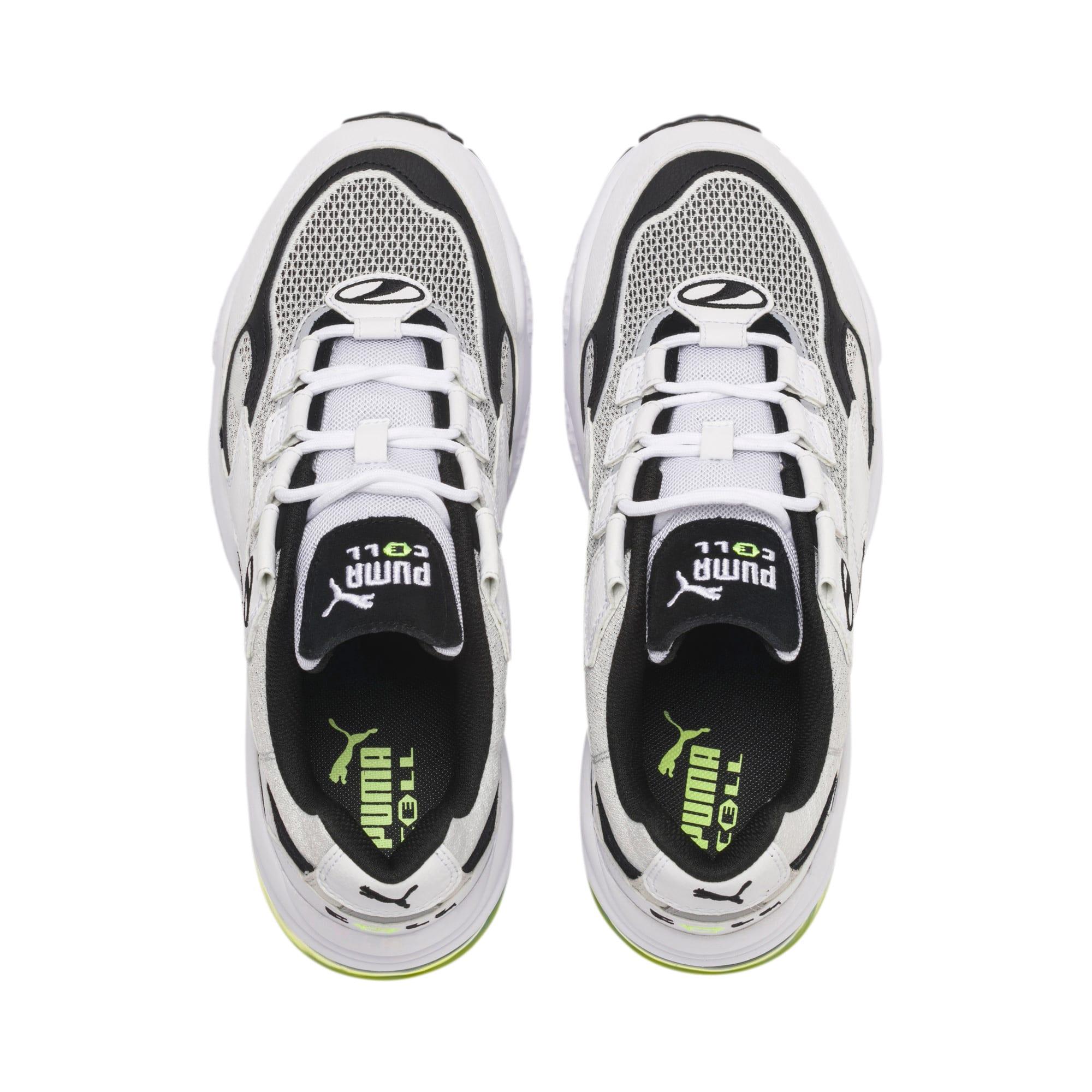 Thumbnail 7 of CELL Venom Alert Sneakers, Puma White-Puma Black, medium