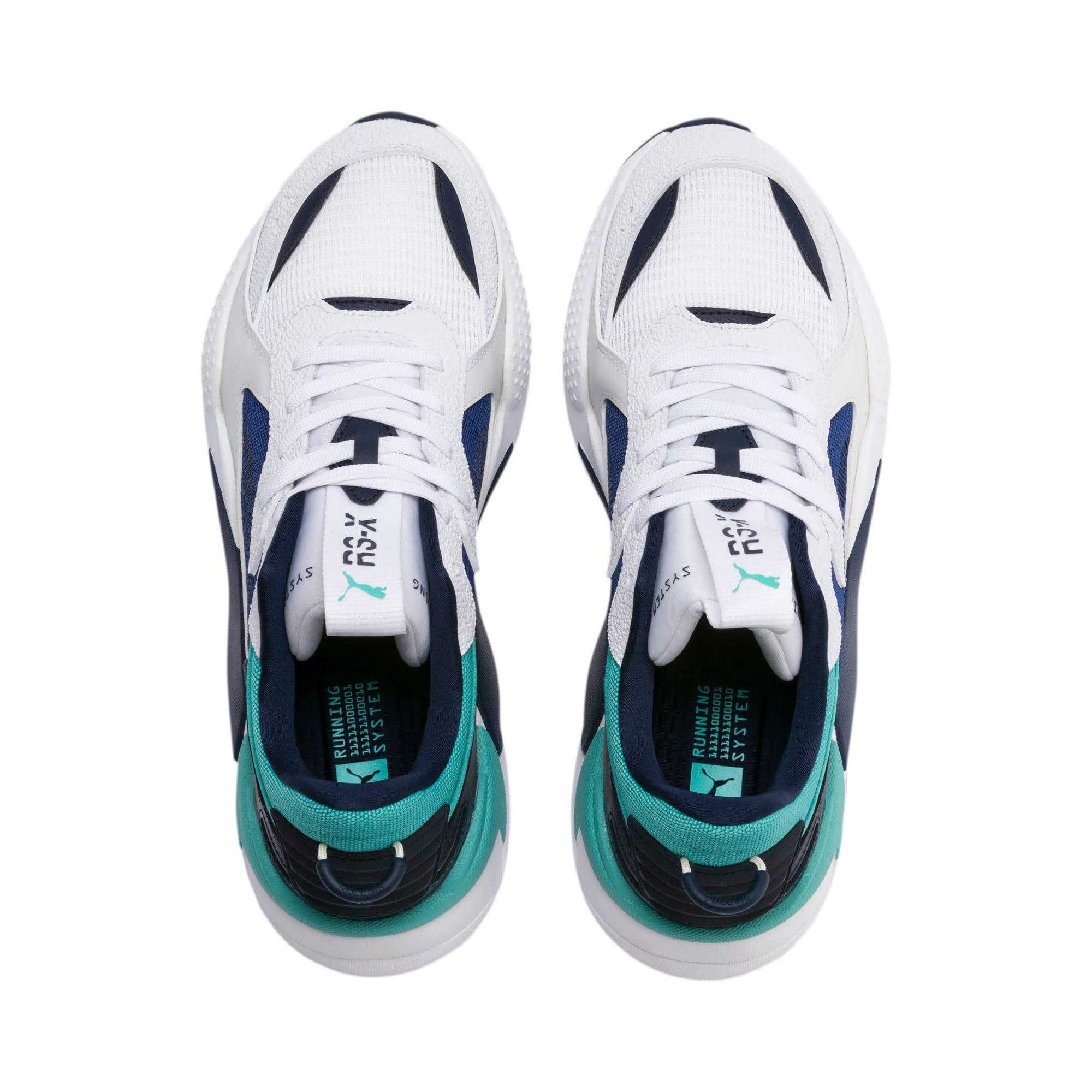 Thumbnail 6 of Basket RS-X Tracks Drive, Puma White-Galaxy Blue, medium
