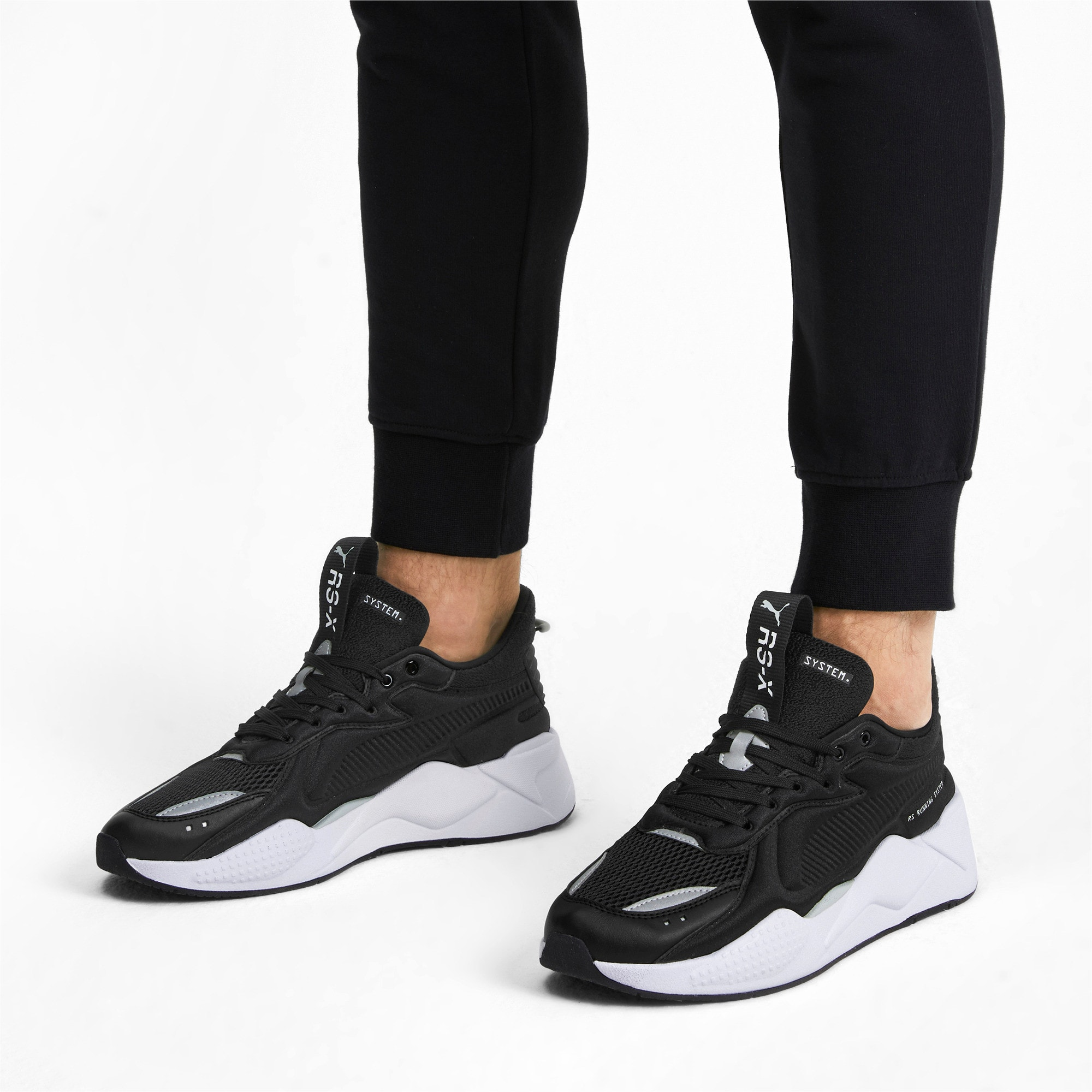 Thumbnail 2 of RS-X Softcase Trainers, Puma Black-Puma White, medium