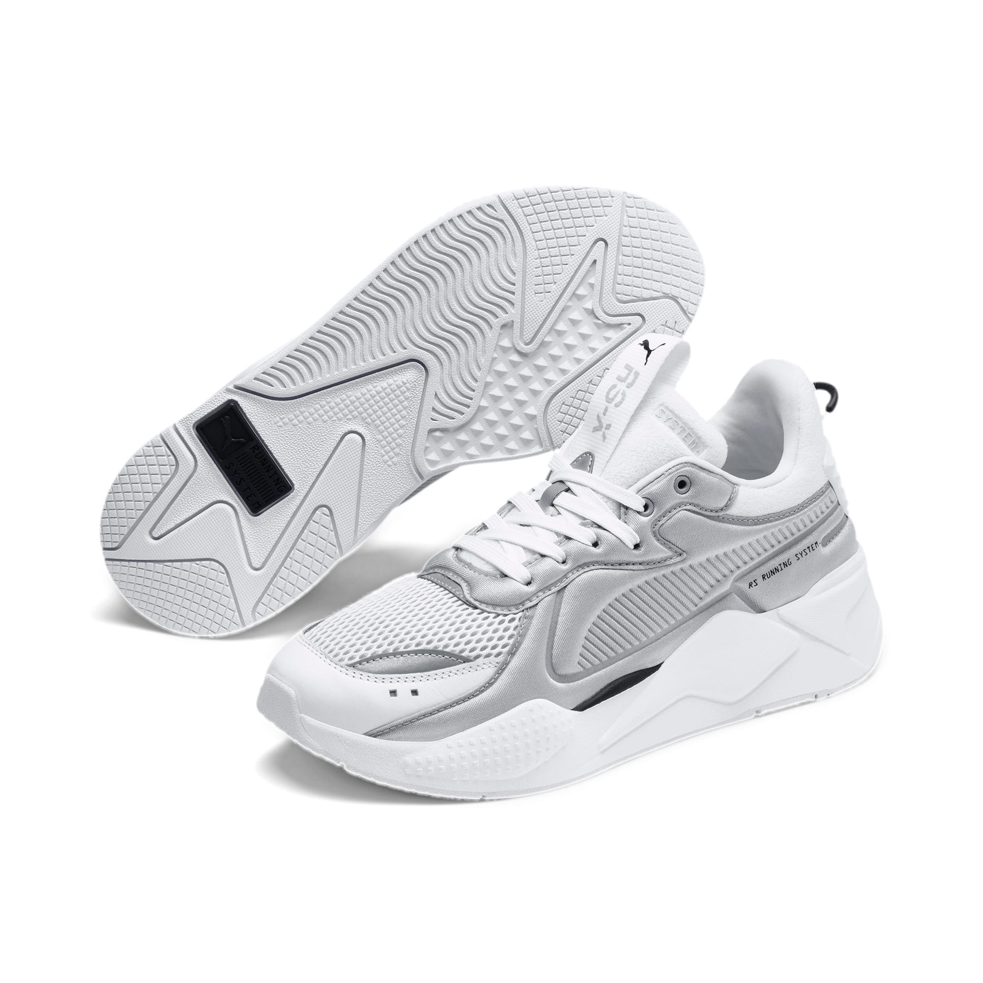 RS-X Softcase Trainers, Puma White-High Rise, large