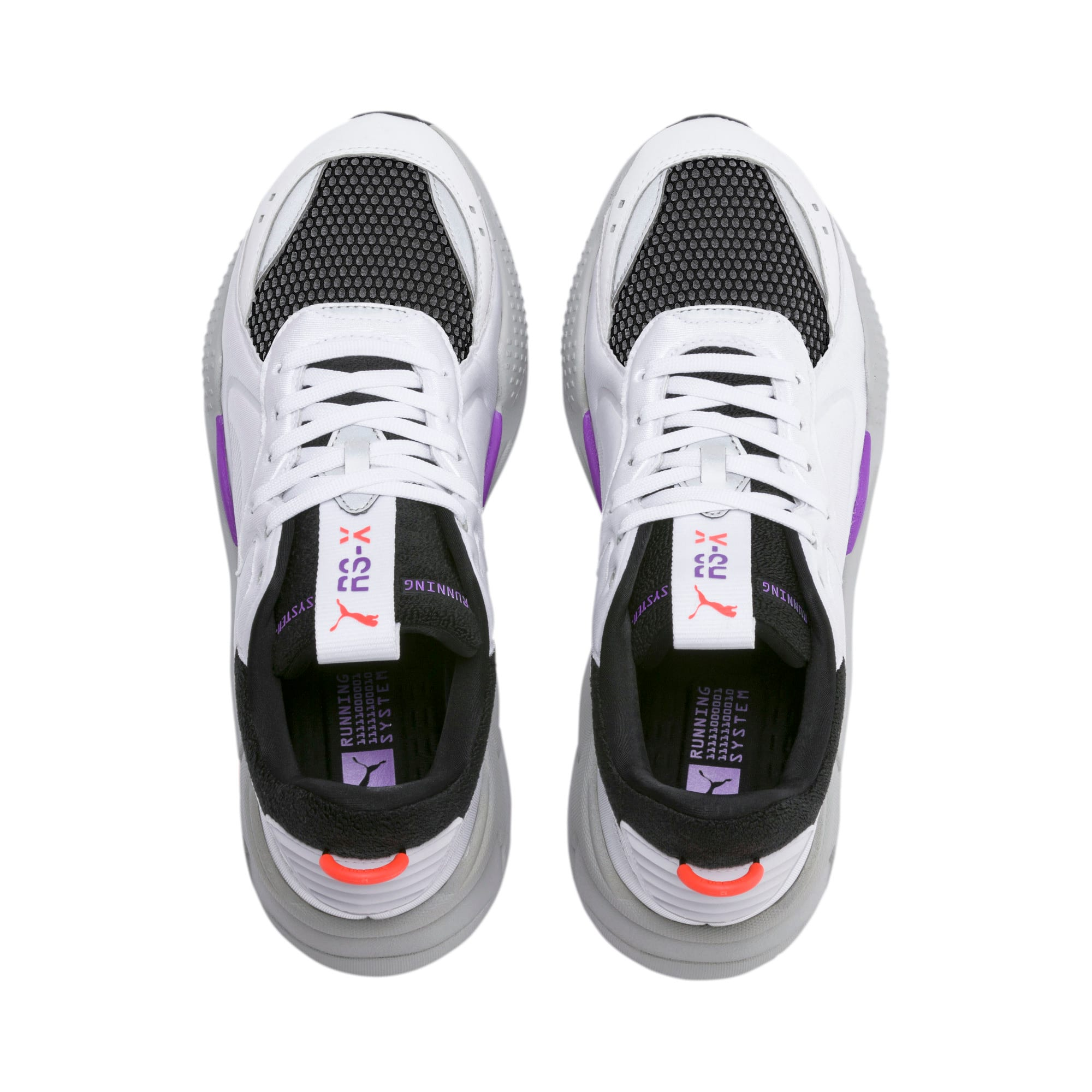 RS-X Softcase Sneakers, Puma White-Puma Black, large