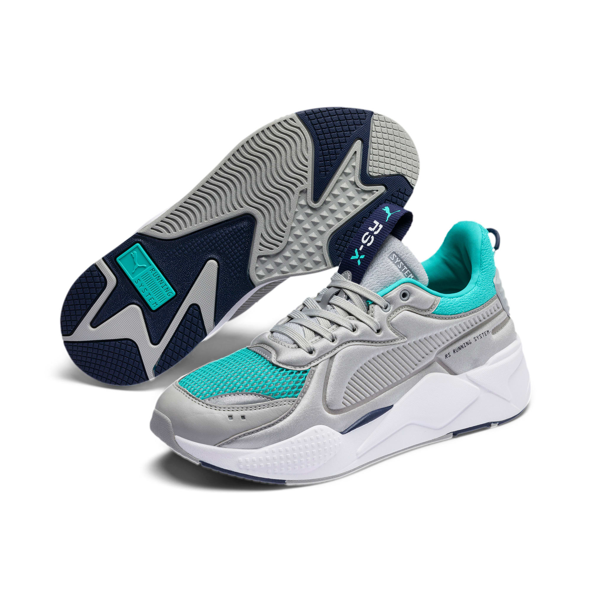 Thumbnail 2 of RS-X Softcase Sneakers, High Rise-Blue Turquoise, medium