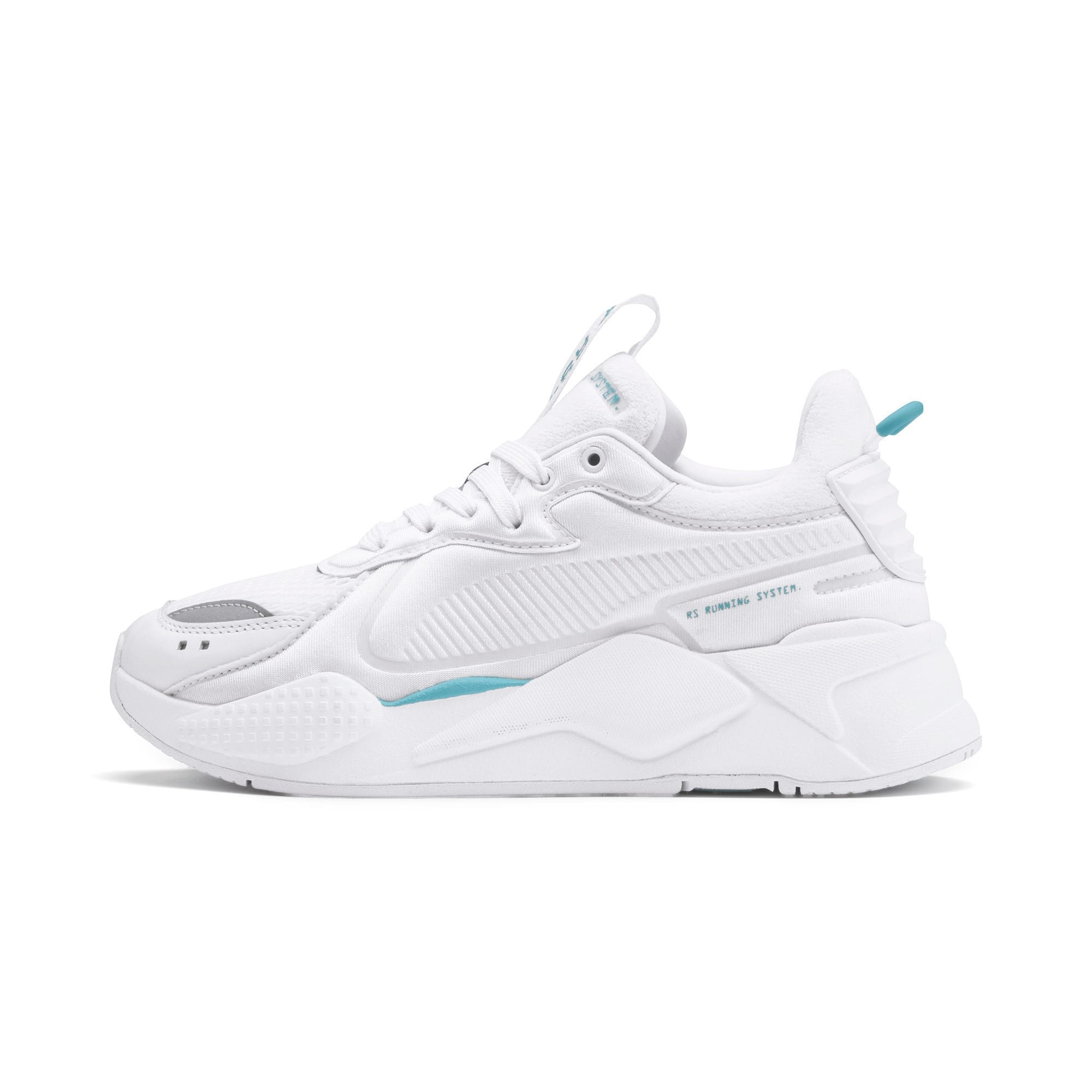 Thumbnail 1 of RS-X Softcase Trainers, Puma White-Milky Blue, medium