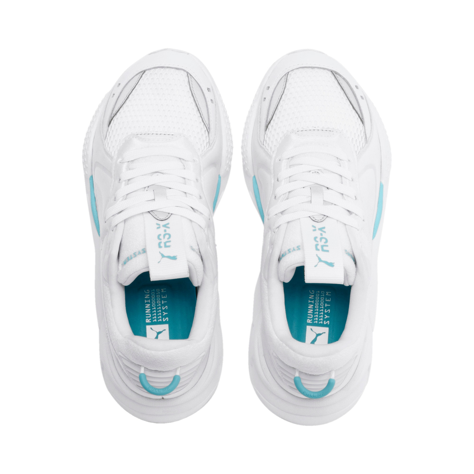 Thumbnail 8 of RS-X Softcase Trainers, Puma White-Milky Blue, medium