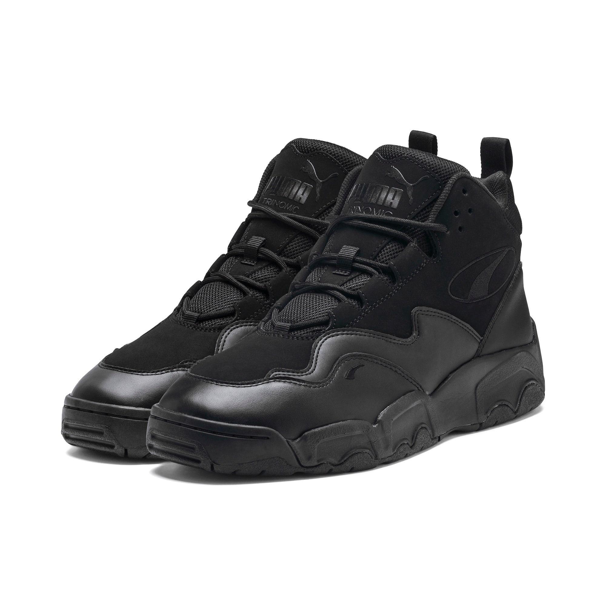 Thumbnail 2 of Source Mid Sneakers, Puma Black, medium