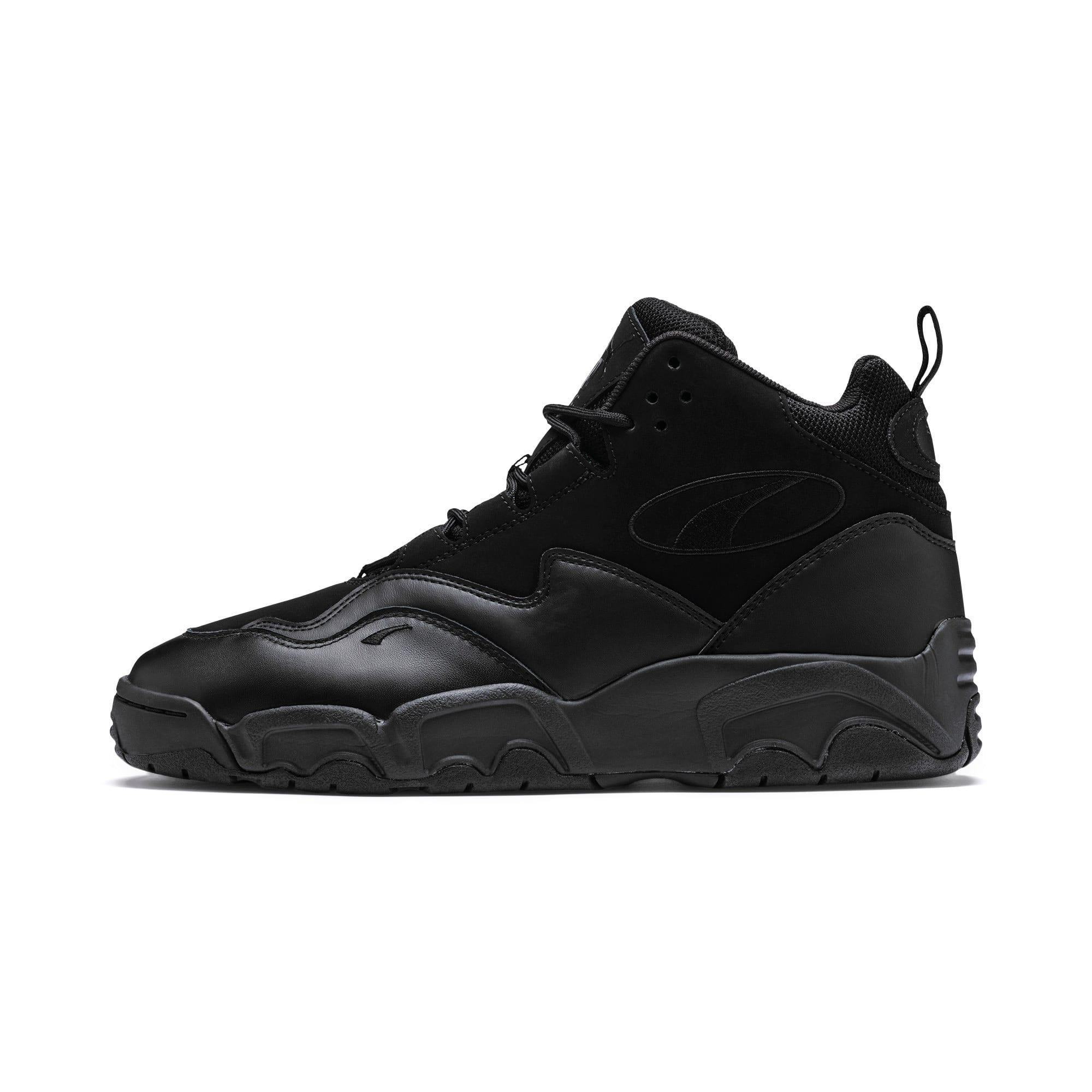 Thumbnail 1 of Source Mid Sneakers, Puma Black, medium
