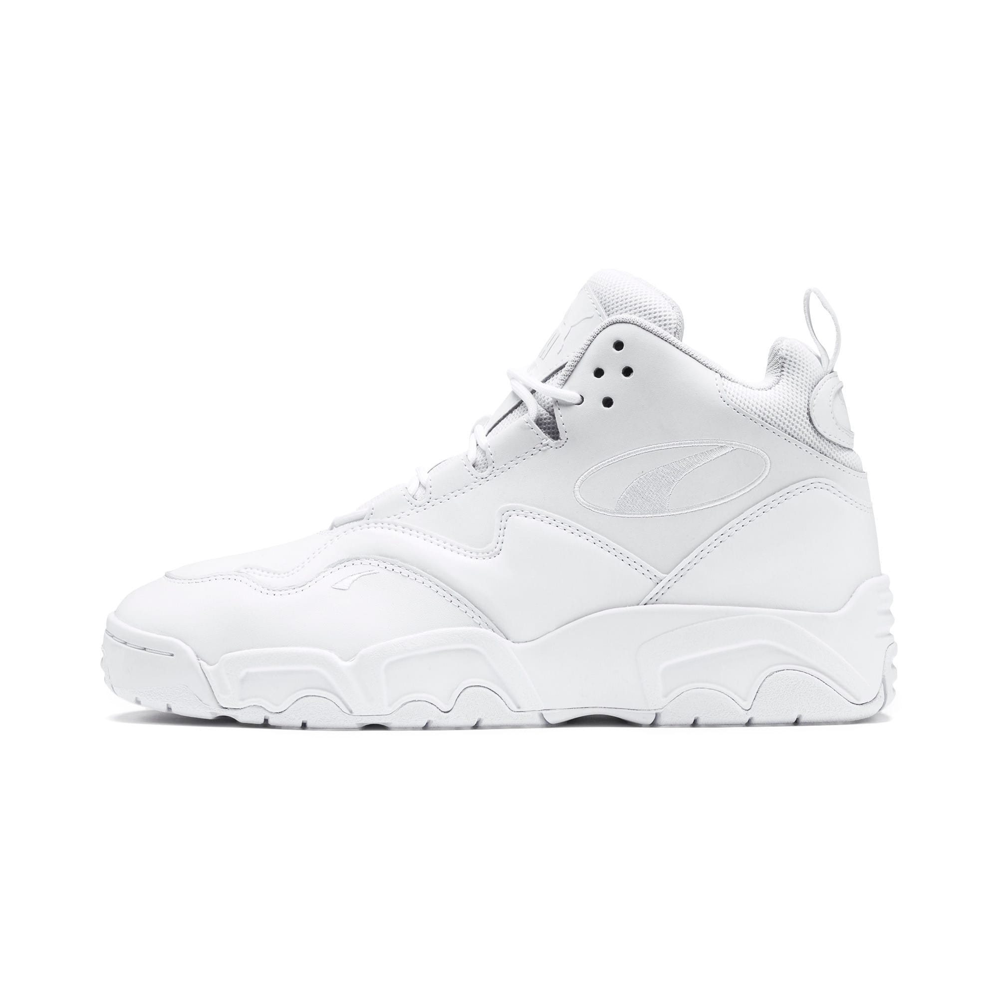 Thumbnail 1 of Source Mid Sneakers, Puma Black-Puma White, medium
