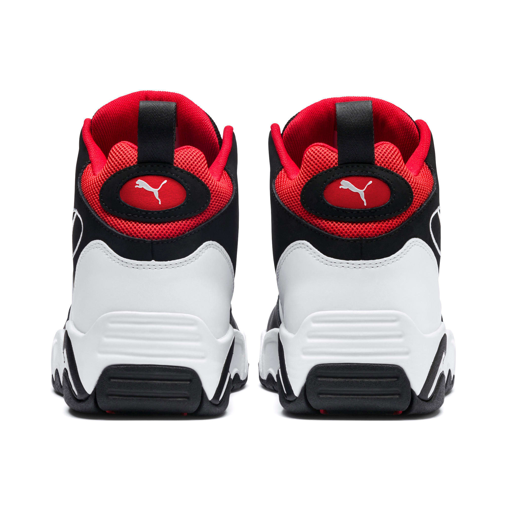 Miniatura 3 de Zapatos deportivos Source de caña media, Black- White-High Risk Red, mediano