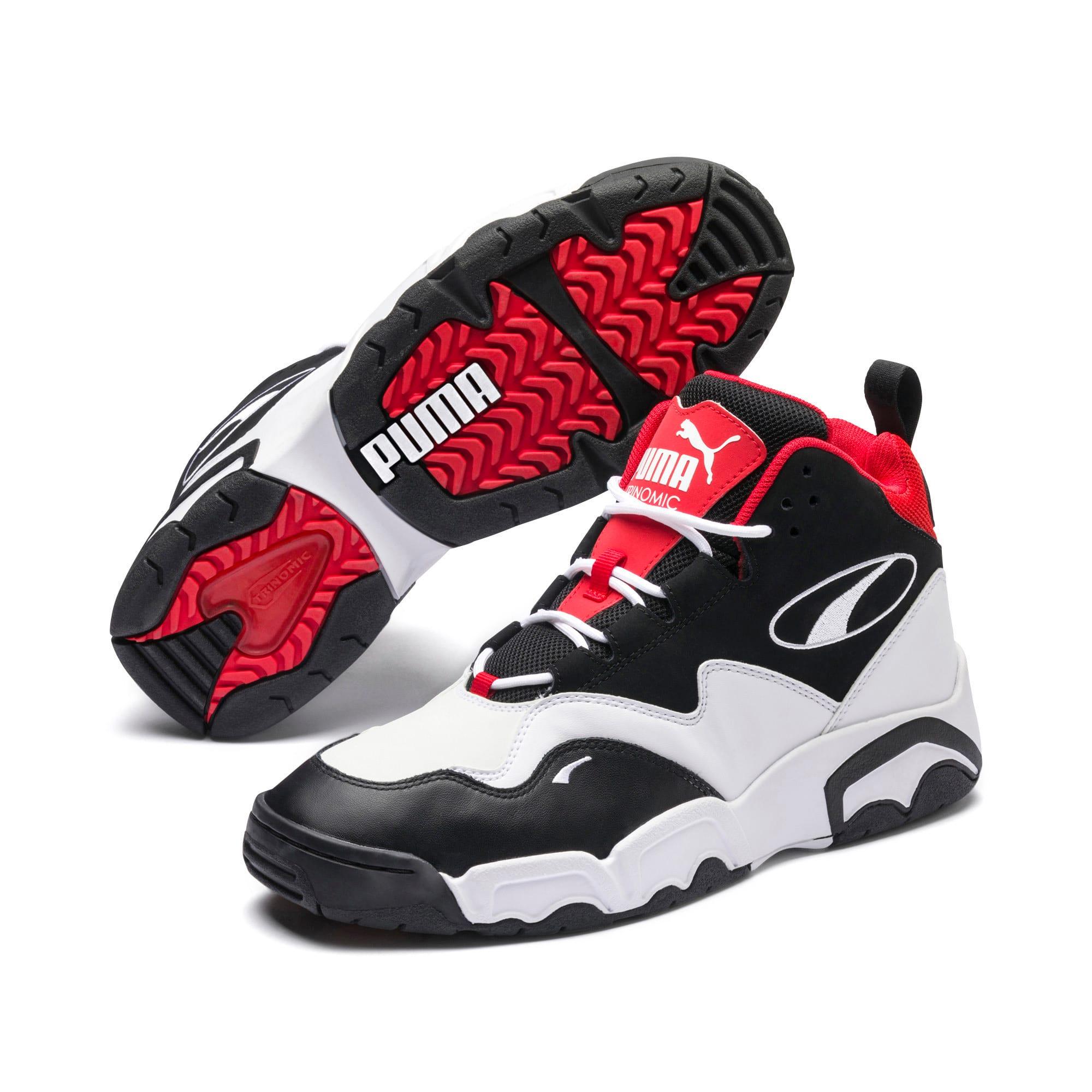 Miniatura 2 de Zapatos deportivos Source de caña media, Black- White-High Risk Red, mediano