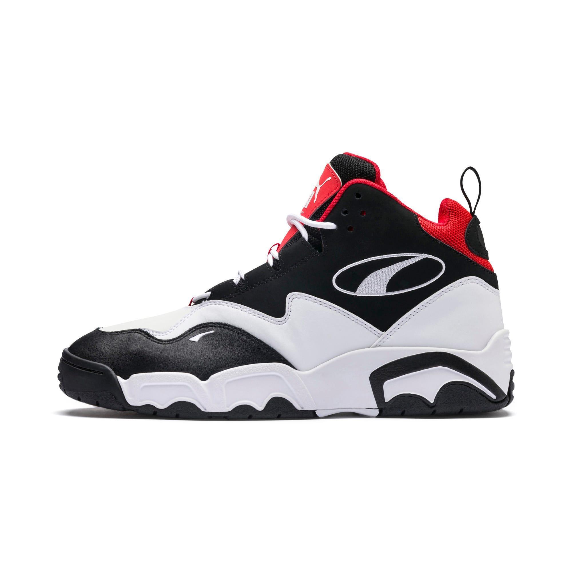 Miniatura 1 de Zapatos deportivos Source de caña media, Black- White-High Risk Red, mediano