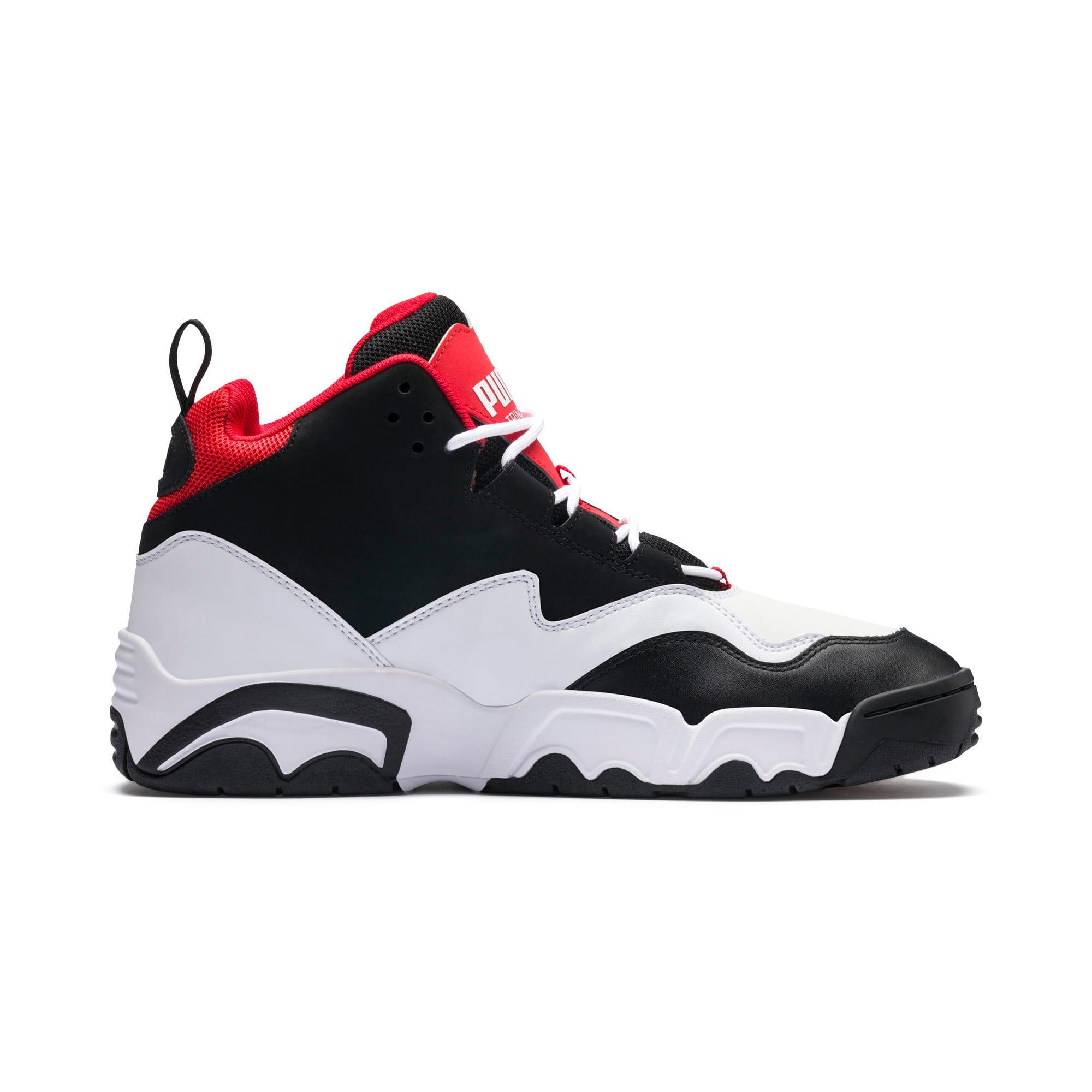 Miniatura 5 de Zapatos deportivos Source de caña media, Black- White-High Risk Red, mediano