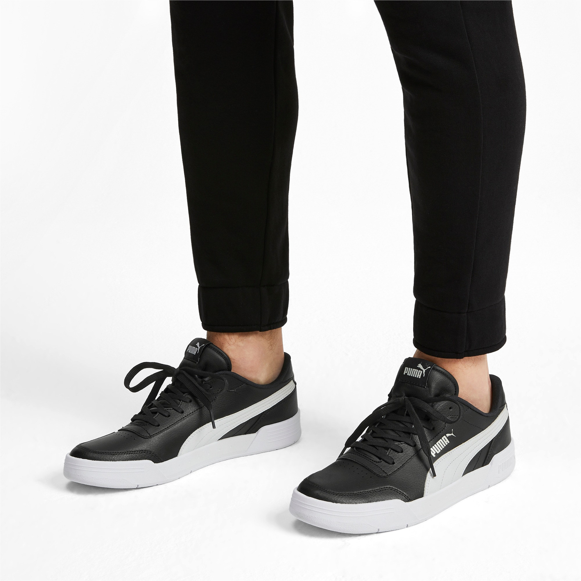 Thumbnail 2 of Caracal Sneakers, Puma Black-Puma White, medium