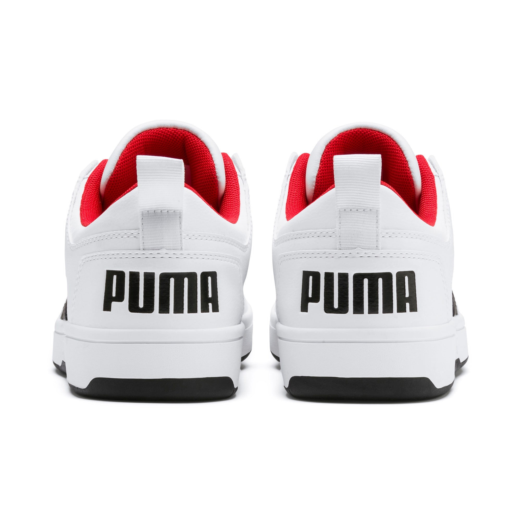 Miniatura 4 de Zapatos deportivos PUMA Rebound LayUp Lo, White-Black-High Risk Red, mediano