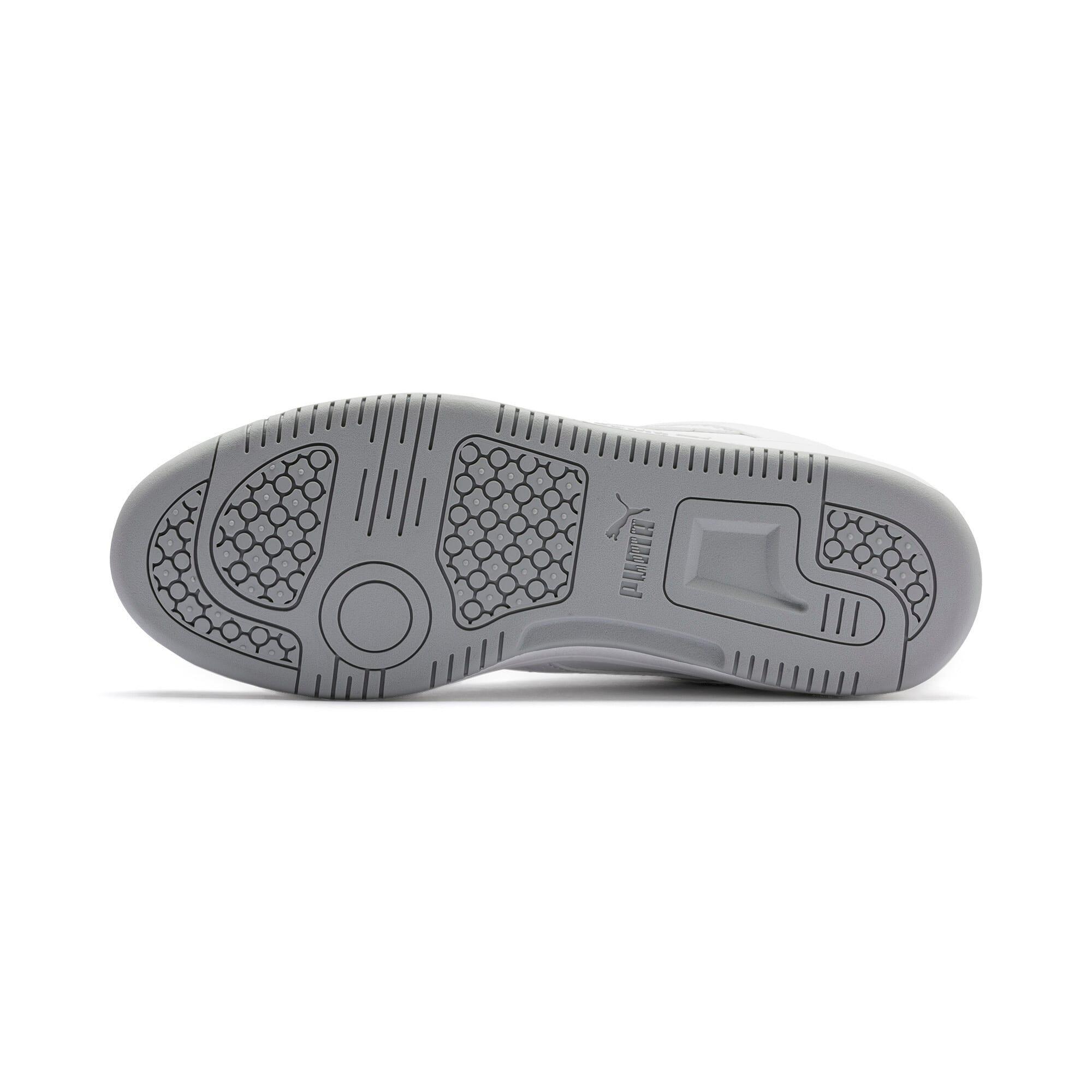 Thumbnail 5 of PUMA Rebound LayUp Lo Sneakers, Puma White-High Rise, medium