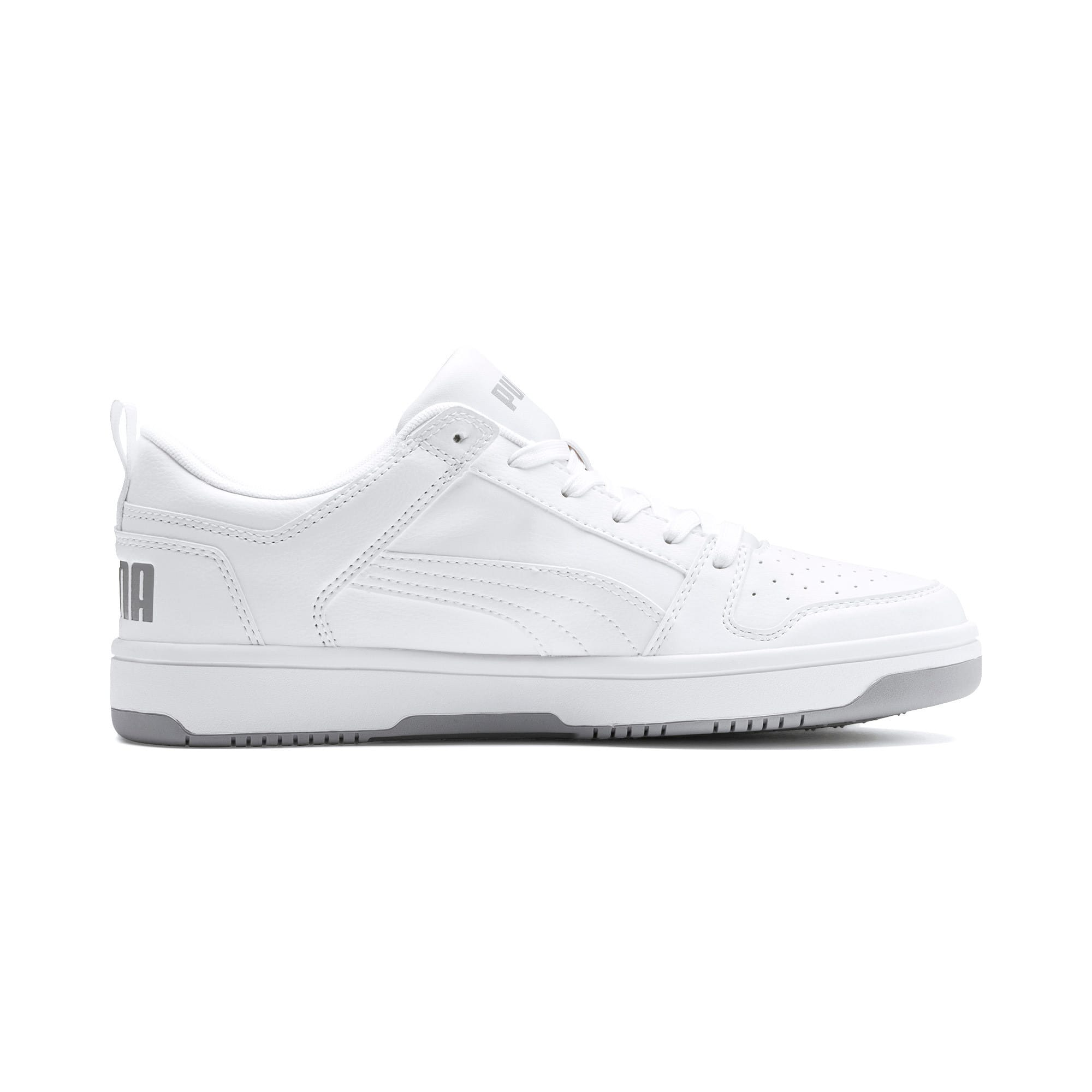 Thumbnail 6 of PUMA Rebound LayUp Lo Sneakers, Puma White-High Rise, medium