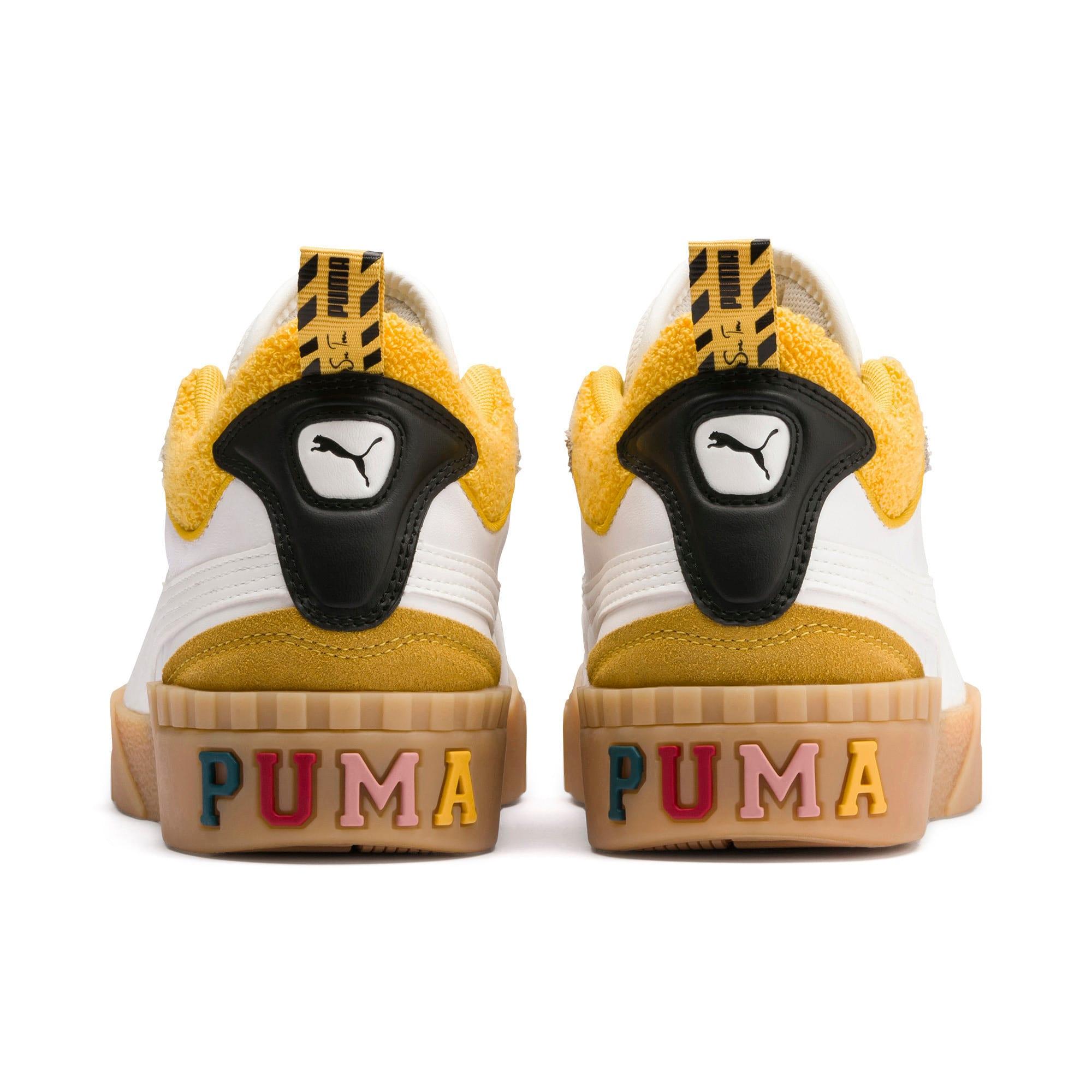 Thumbnail 3 of PUMA x SUE TSAI Cali Women's Sneakers, Bright White-Bright White, medium