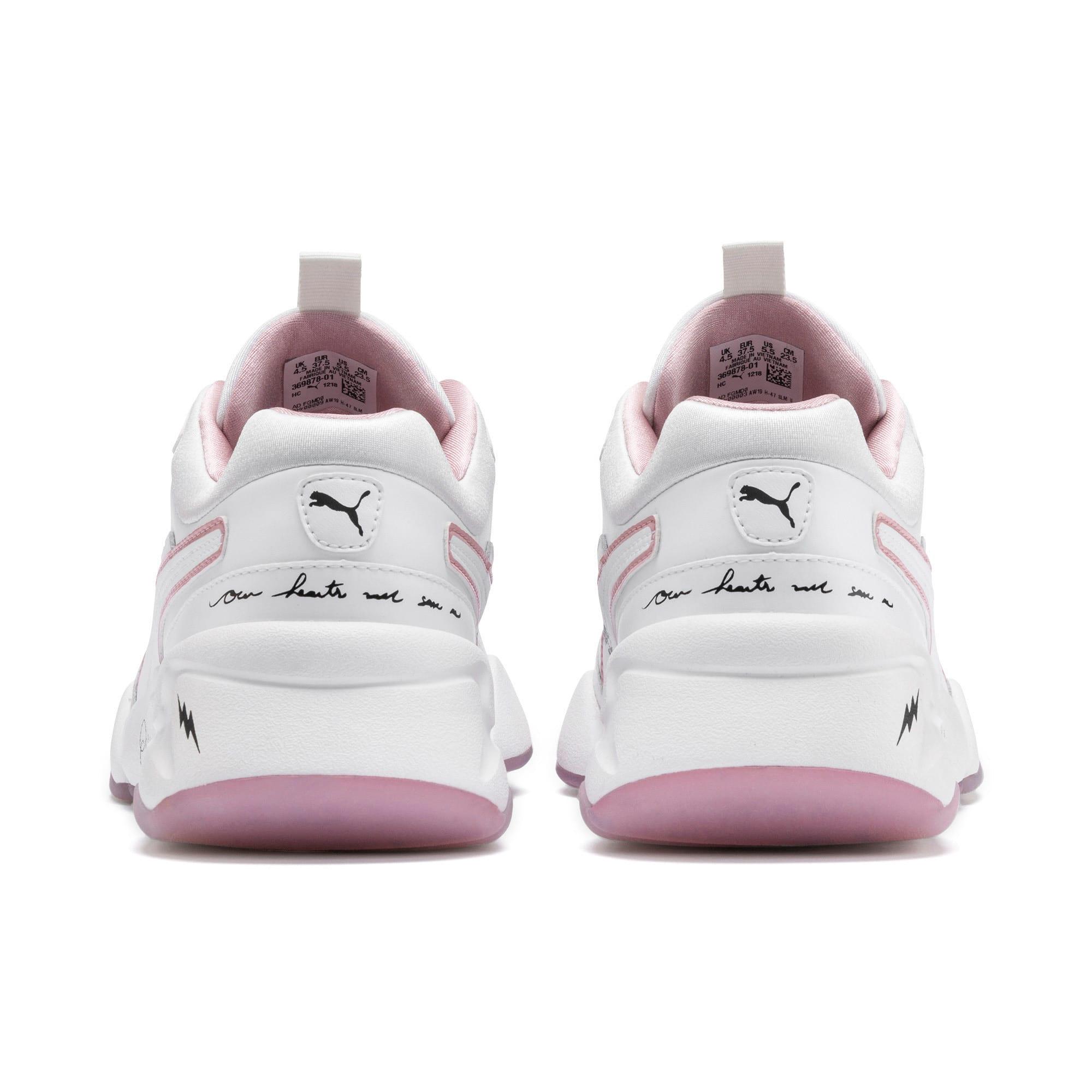 Thumbnail 3 of PUMA x SUE TSAI Nova Women's Sneakers, Bright White-Bright White, medium