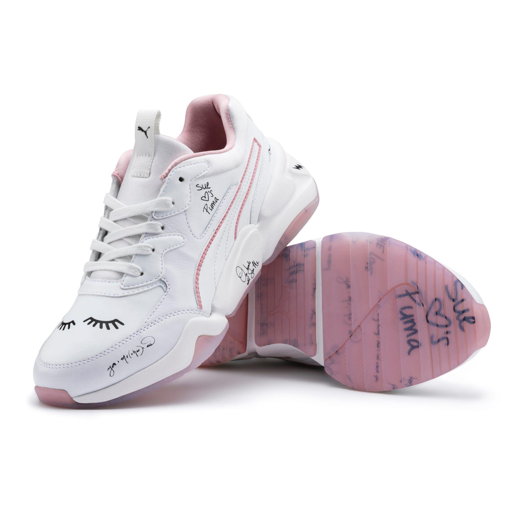 Thumbnail 10 of PUMA x SUE TSAI Nova Women's Sneakers, Bright White-Bright White, medium