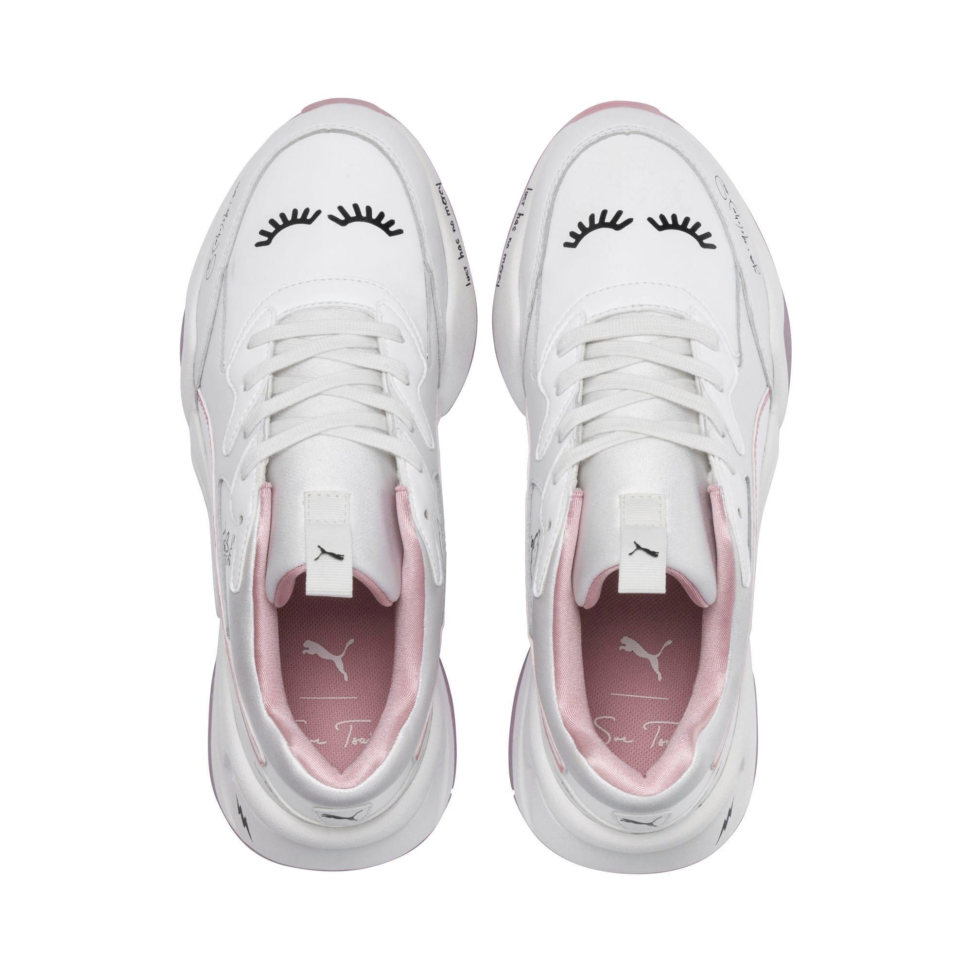 Thumbnail 6 of PUMA x SUE TSAI Nova Women's Sneakers, Bright White-Bright White, medium