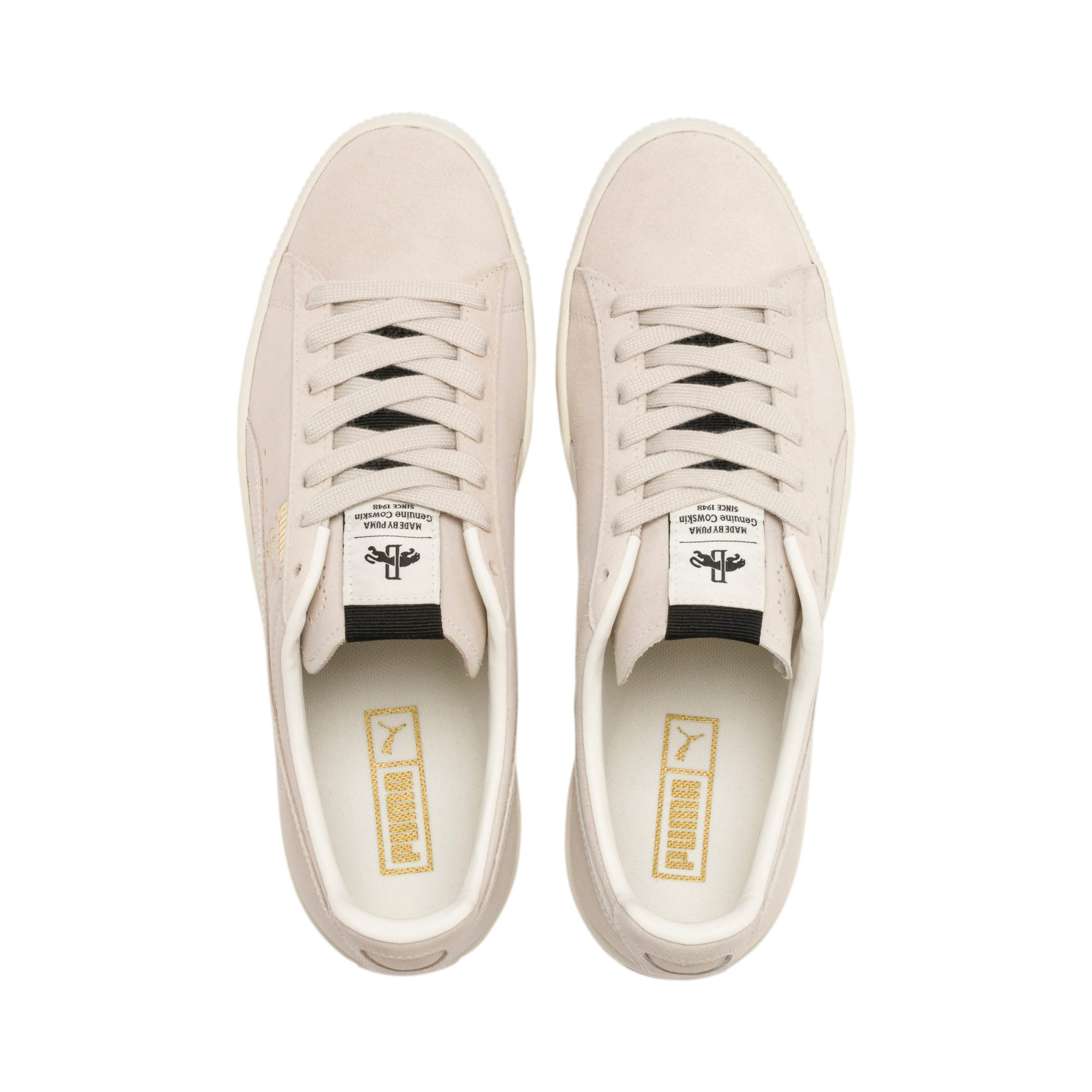 Thumbnail 7 of Clyde Fedora Sneakers, Whisper Wht-P Blk-WhisperWht, medium