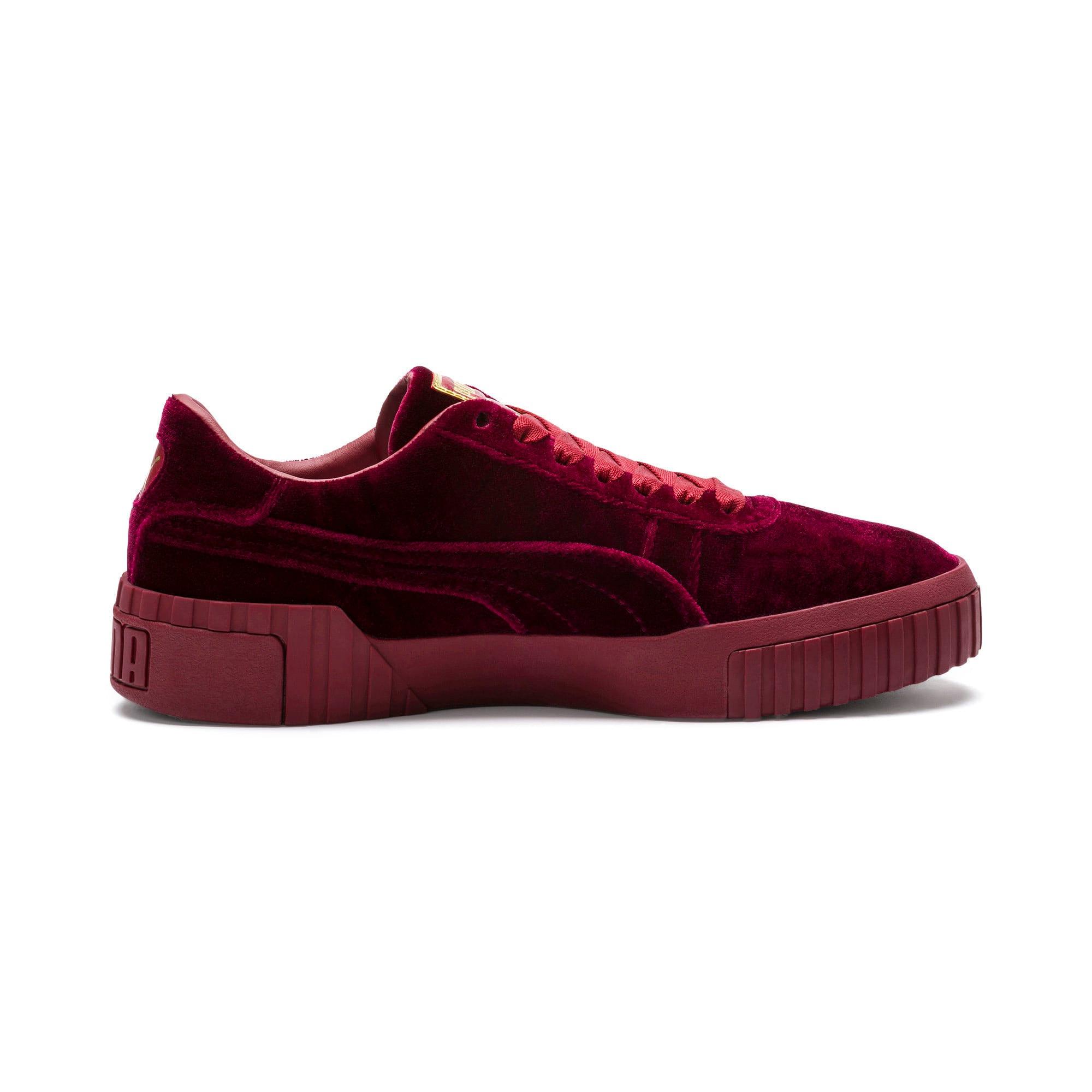 Thumbnail 5 of Cali Velvet Women's Sneakers, Tibetan Red-Tibetan Red, medium