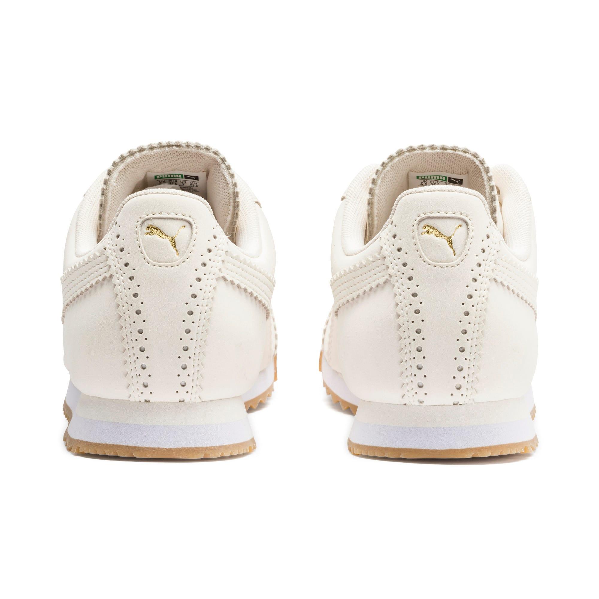 Miniatura 5 de Zapatos deportivos Roma Brogue para mujer, Pastel Parchment-P.Team Gold, mediano