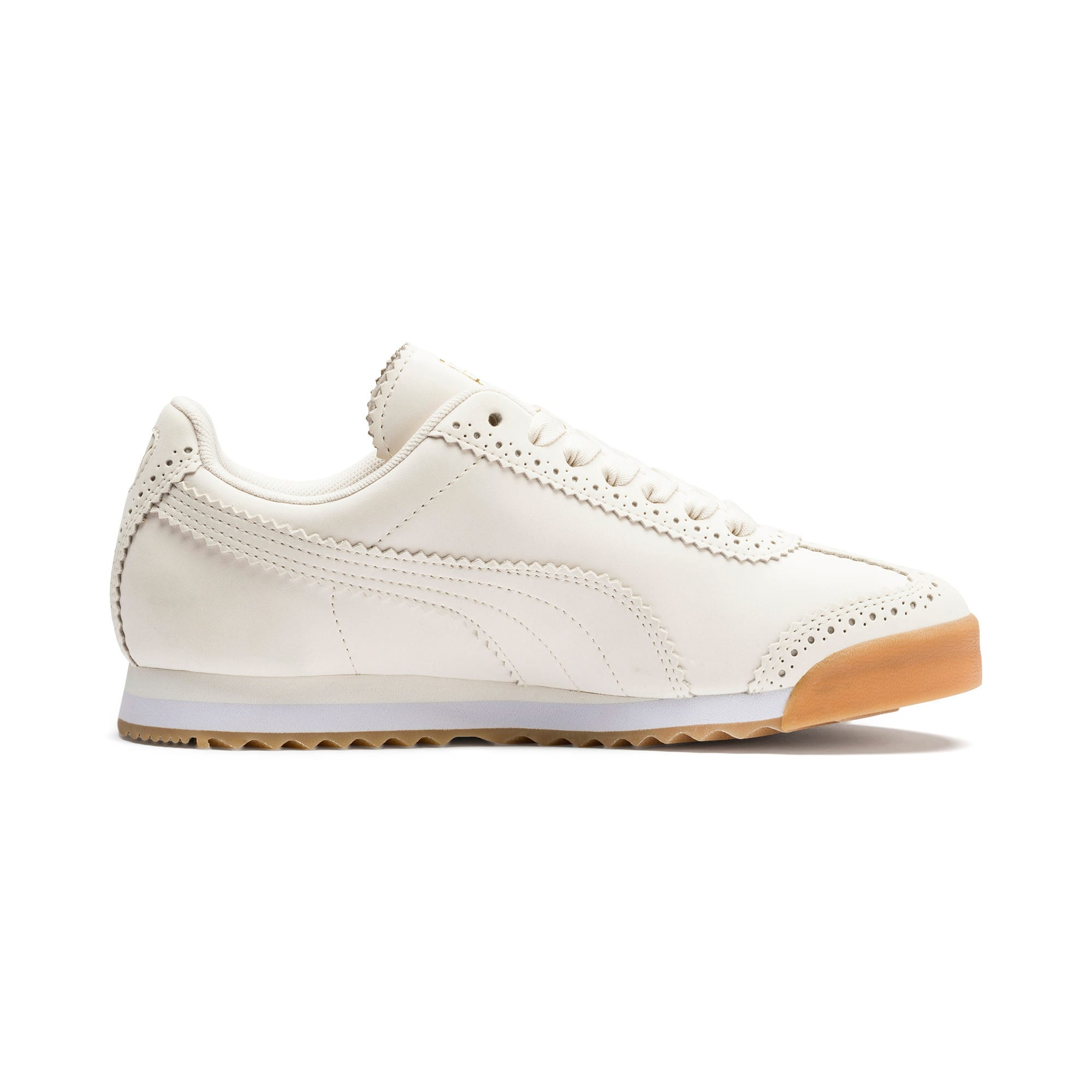 Thumbnail 6 of Roma Brogue Women's Sneakers, Pastel Parchment-P.Team Gold, medium