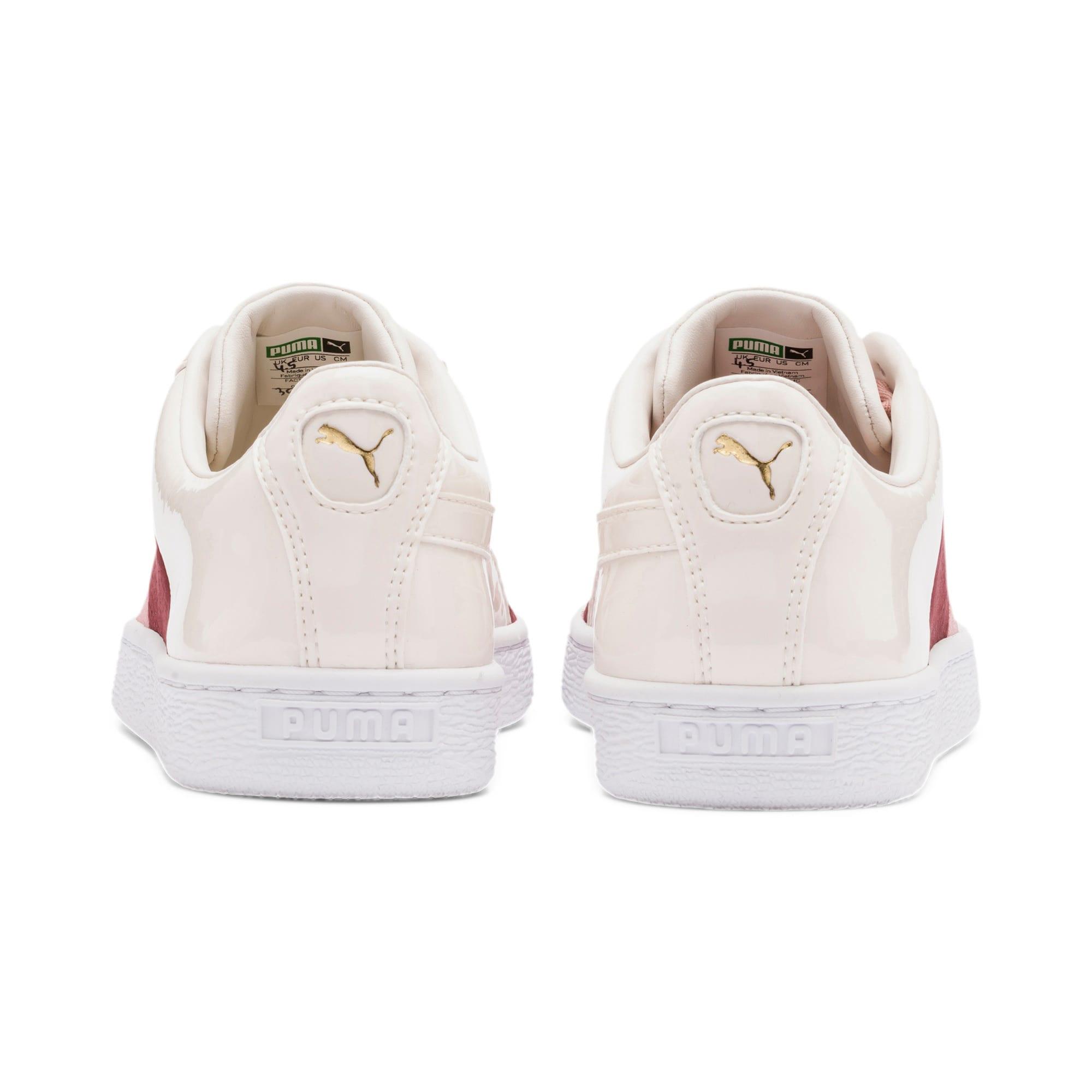 Thumbnail 4 of Basket Remix Women's Sneakers, Bridal Rose-Fired Brick, medium