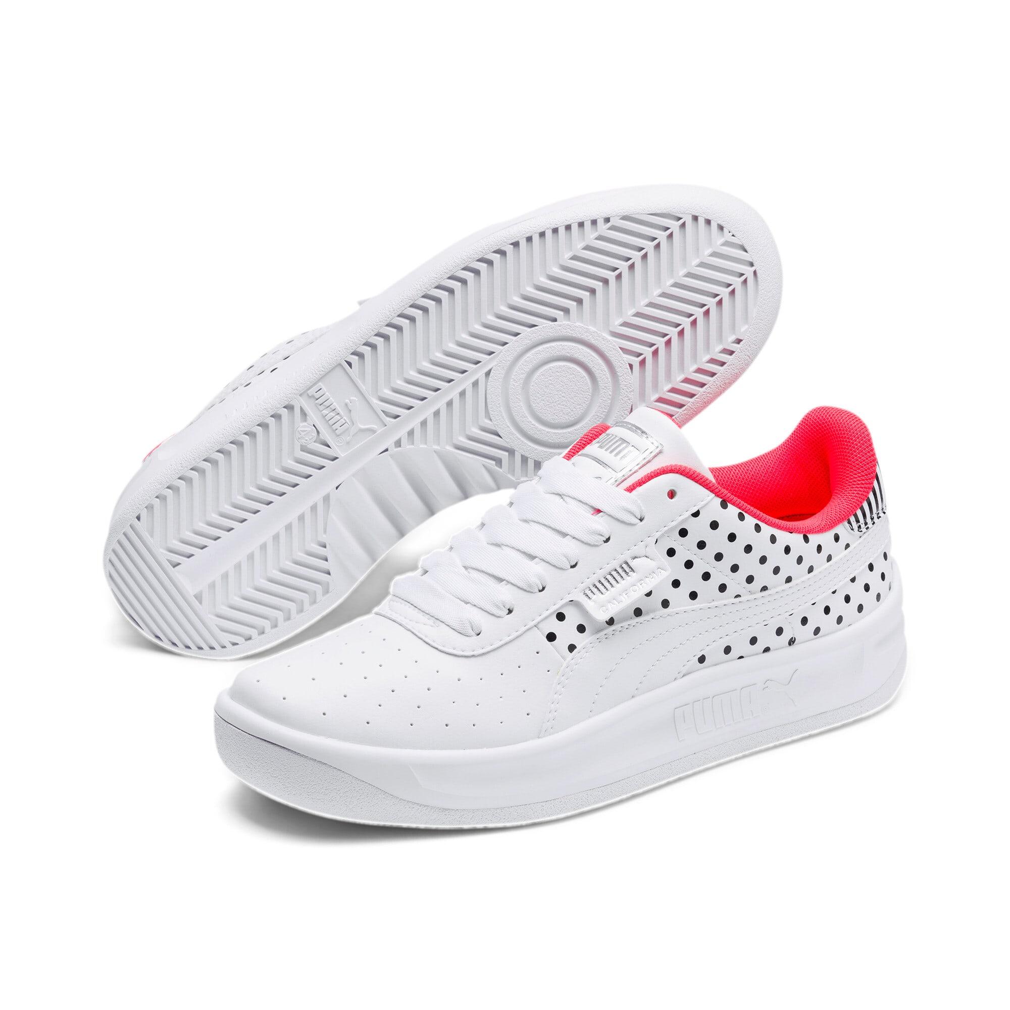 Miniatura 2 de Zapatos deportivosCalifornia Remix para mujer, Puma White-Puma Black, mediano