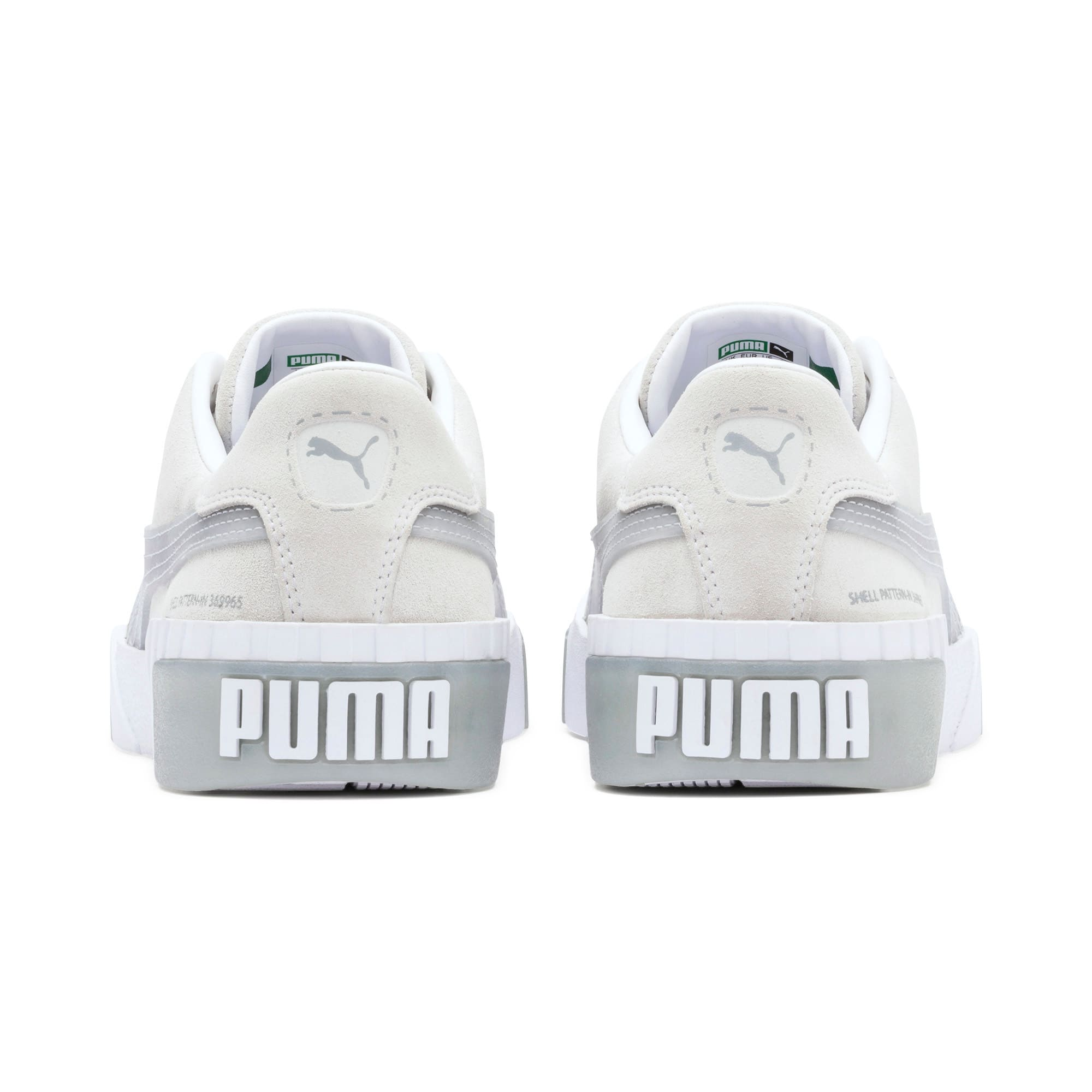 Thumbnail 4 of Cali Patternmaster Women's Trainers, Puma White-Quarry, medium